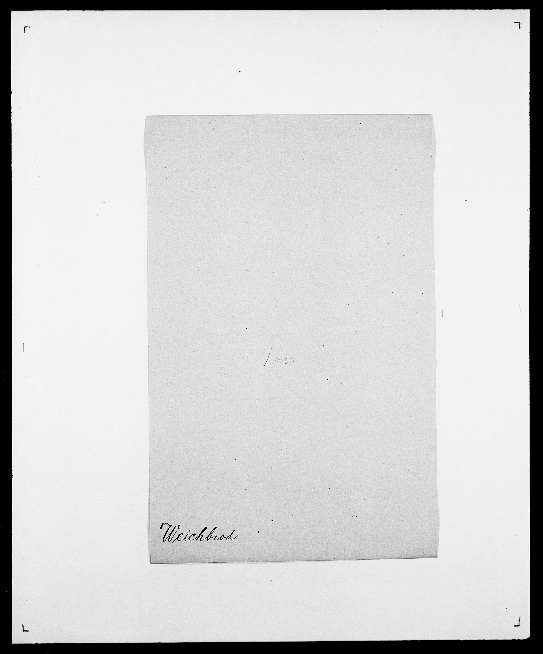 SAO, Delgobe, Charles Antoine - samling, D/Da/L0040: Usgaard - Velund, s. 542