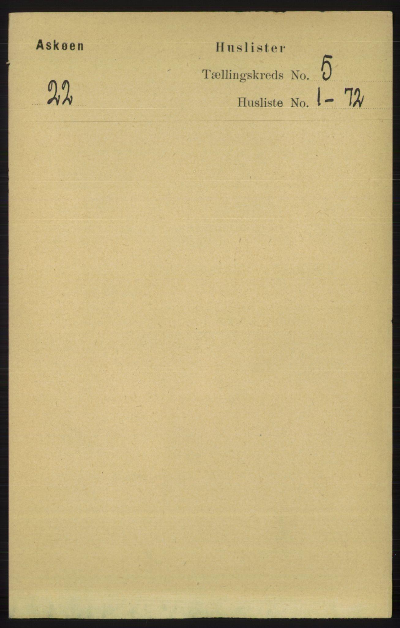RA, Folketelling 1891 for 1247 Askøy herred, 1891, s. 3422