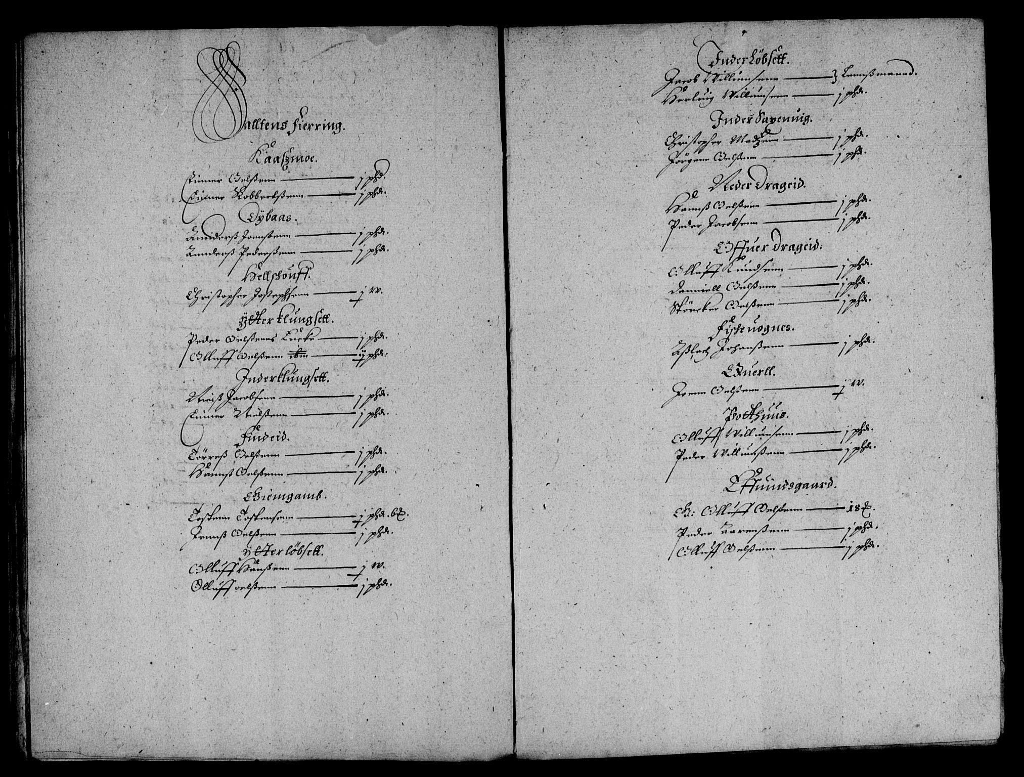RA, Rentekammeret inntil 1814, Reviderte regnskaper, Lensregnskaper, R/Rb/Rbz/L0039: Nordlandenes len, 1656-1663