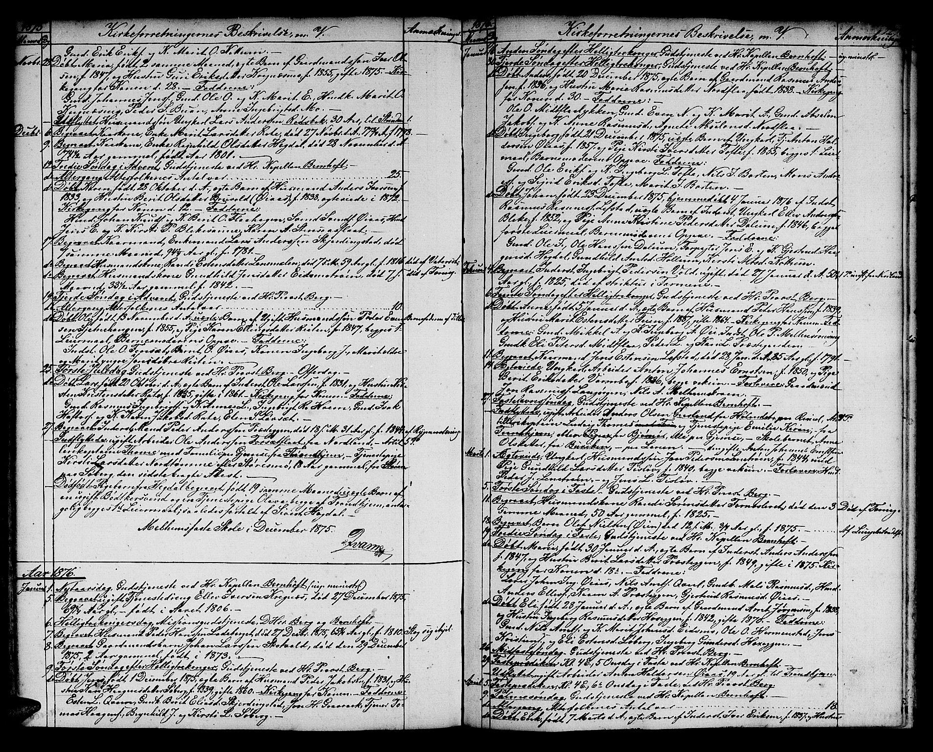 SAT, Ministerialprotokoller, klokkerbøker og fødselsregistre - Sør-Trøndelag, 691/L1093: Klokkerbok nr. 691C04, 1852-1879, s. 127