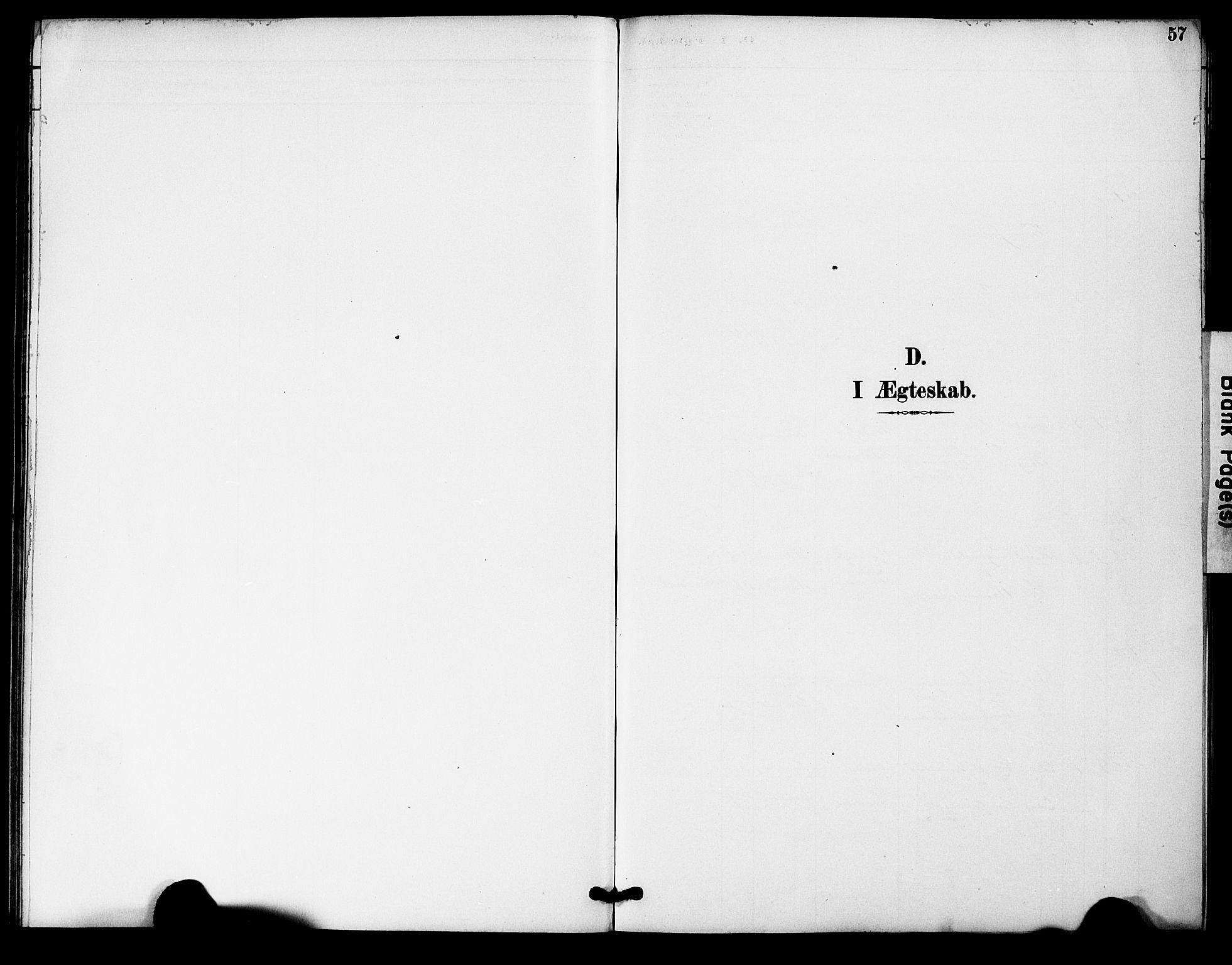 SAK, Bygland sokneprestkontor, F/Fa/Fac/L0001: Ministerialbok nr. A 1, 1885-1909, s. 57