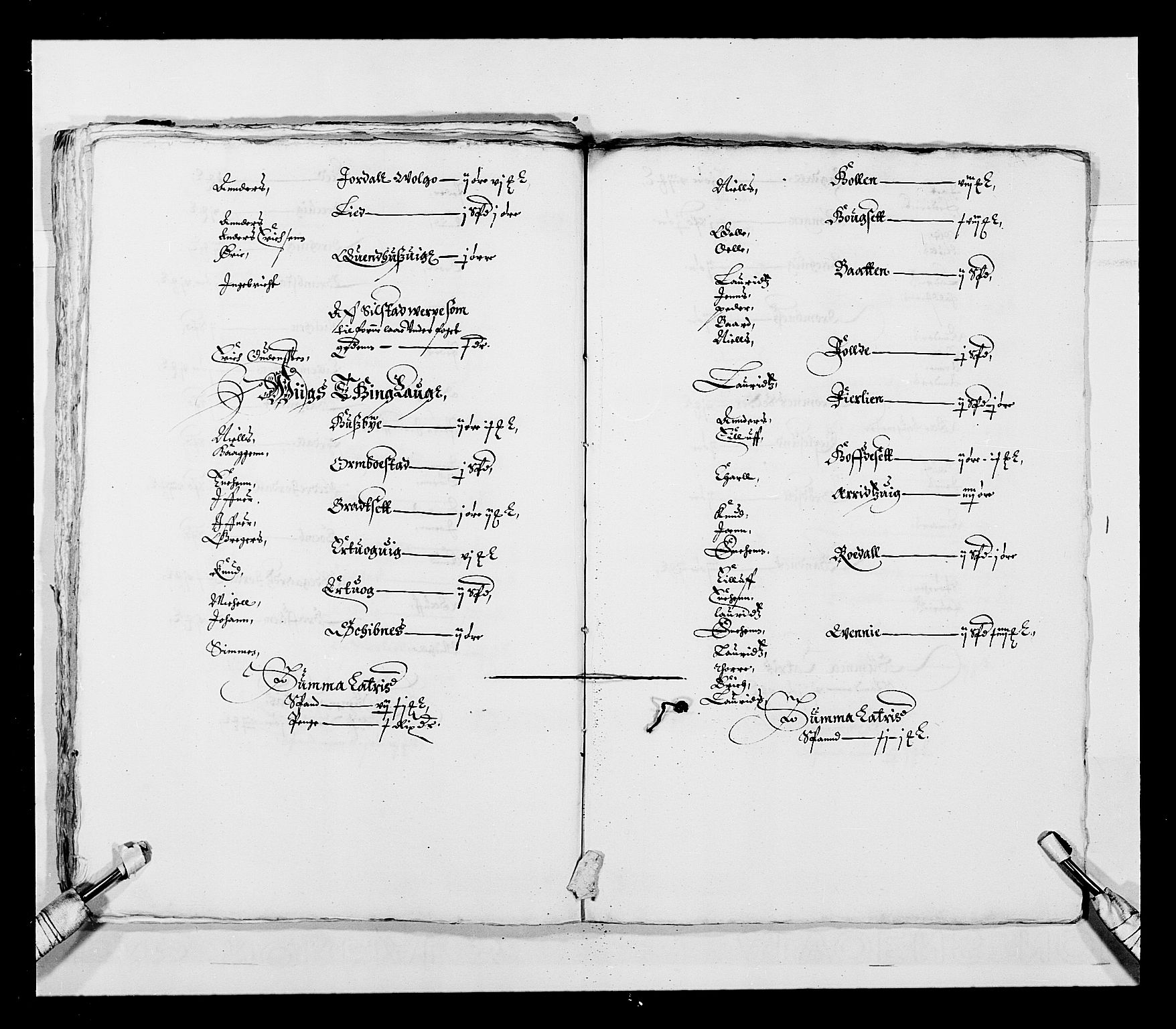 RA, Stattholderembetet 1572-1771, Ek/L0028: Jordebøker 1633-1658:, 1645-1646, s. 42