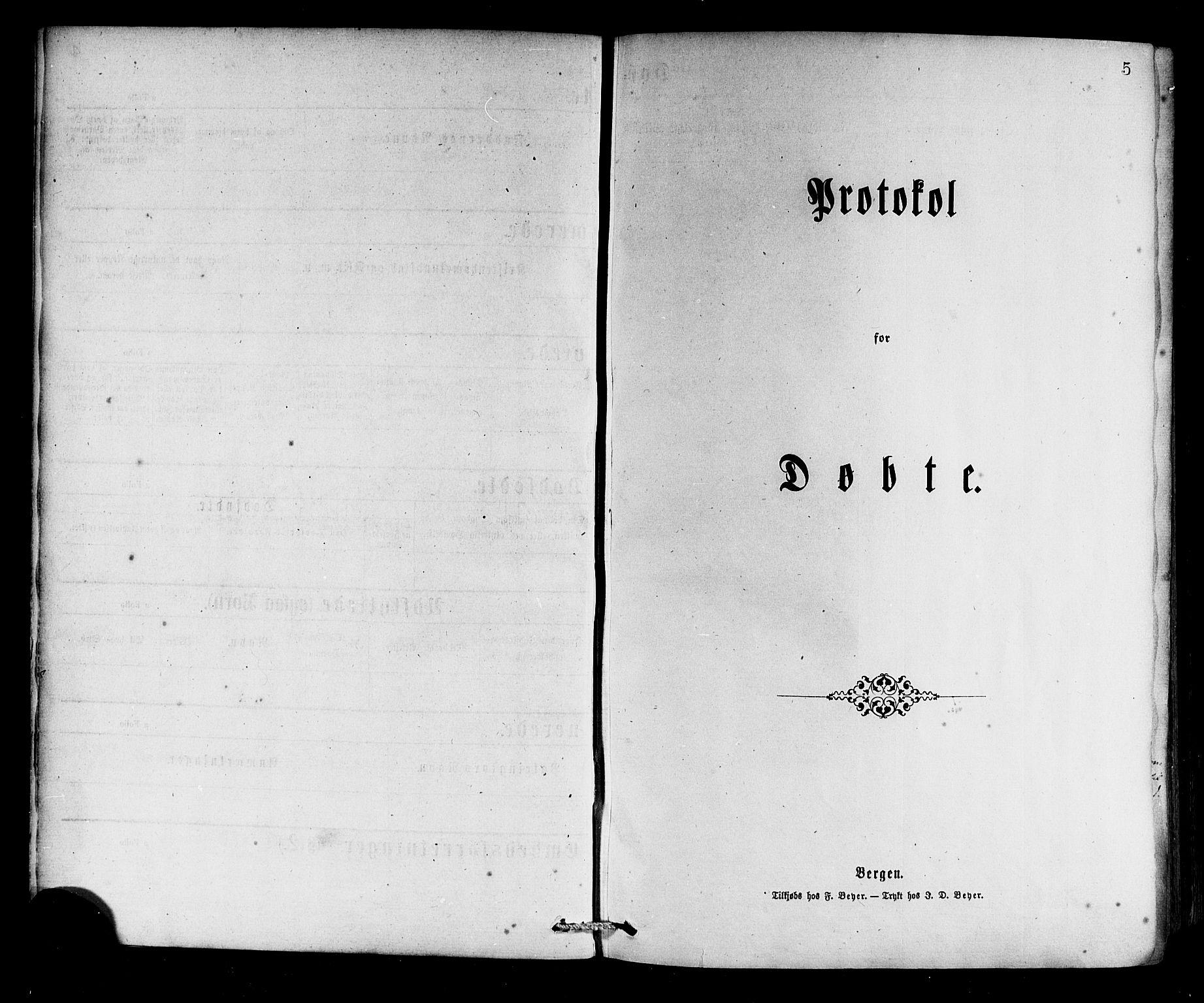 SAB, Selje sokneprestembete*, Ministerialbok nr. A 12, 1870-1880, s. 5