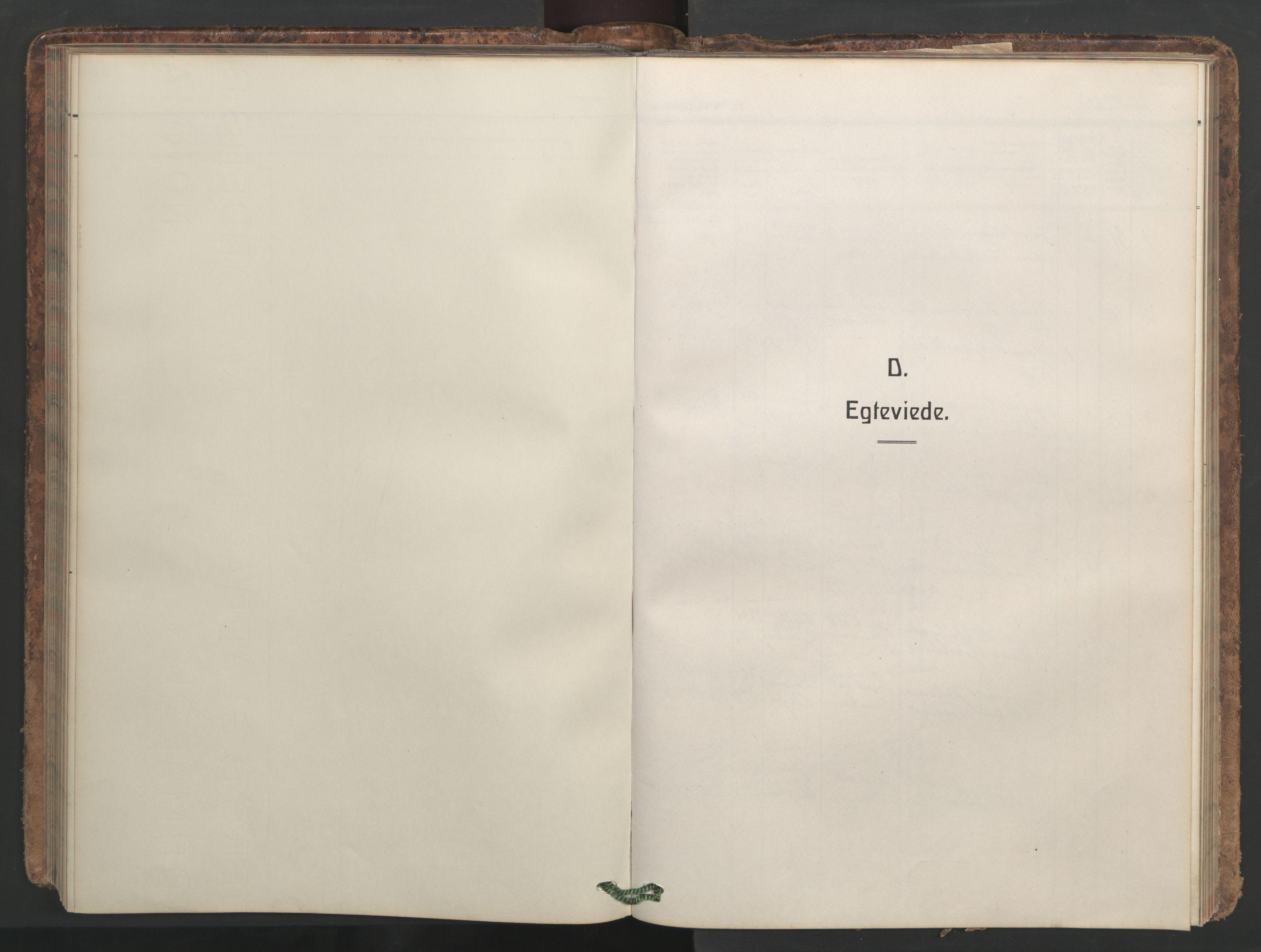 SAT, Ministerialprotokoller, klokkerbøker og fødselsregistre - Møre og Romsdal, 546/L0597: Klokkerbok nr. 546C03, 1921-1959