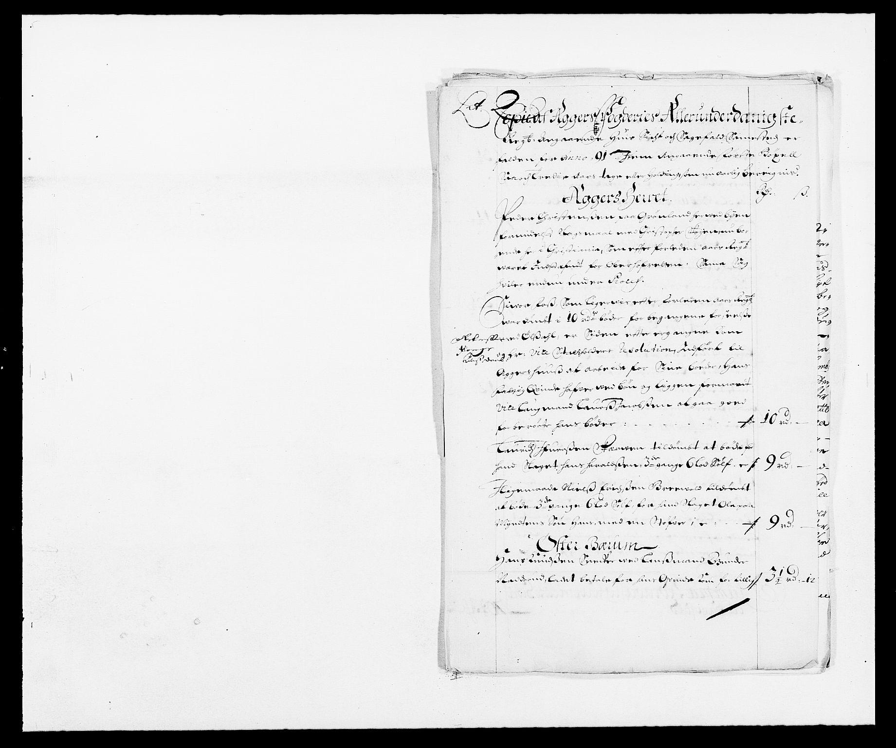 RA, Rentekammeret inntil 1814, Reviderte regnskaper, Fogderegnskap, R08/L0423: Fogderegnskap Aker, 1687-1689, s. 278