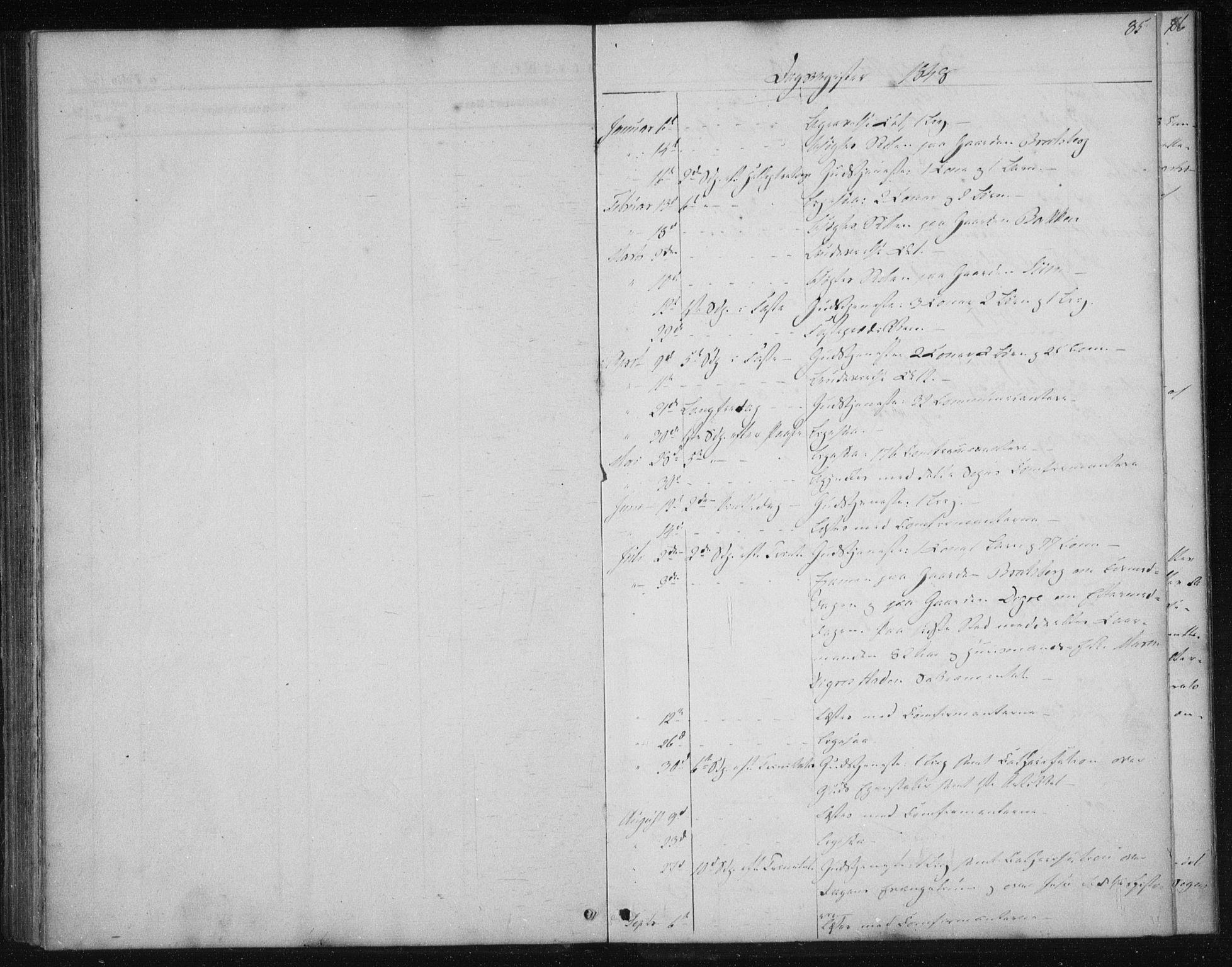 SAT, Ministerialprotokoller, klokkerbøker og fødselsregistre - Sør-Trøndelag, 608/L0332: Ministerialbok nr. 608A01, 1848-1861, s. 85