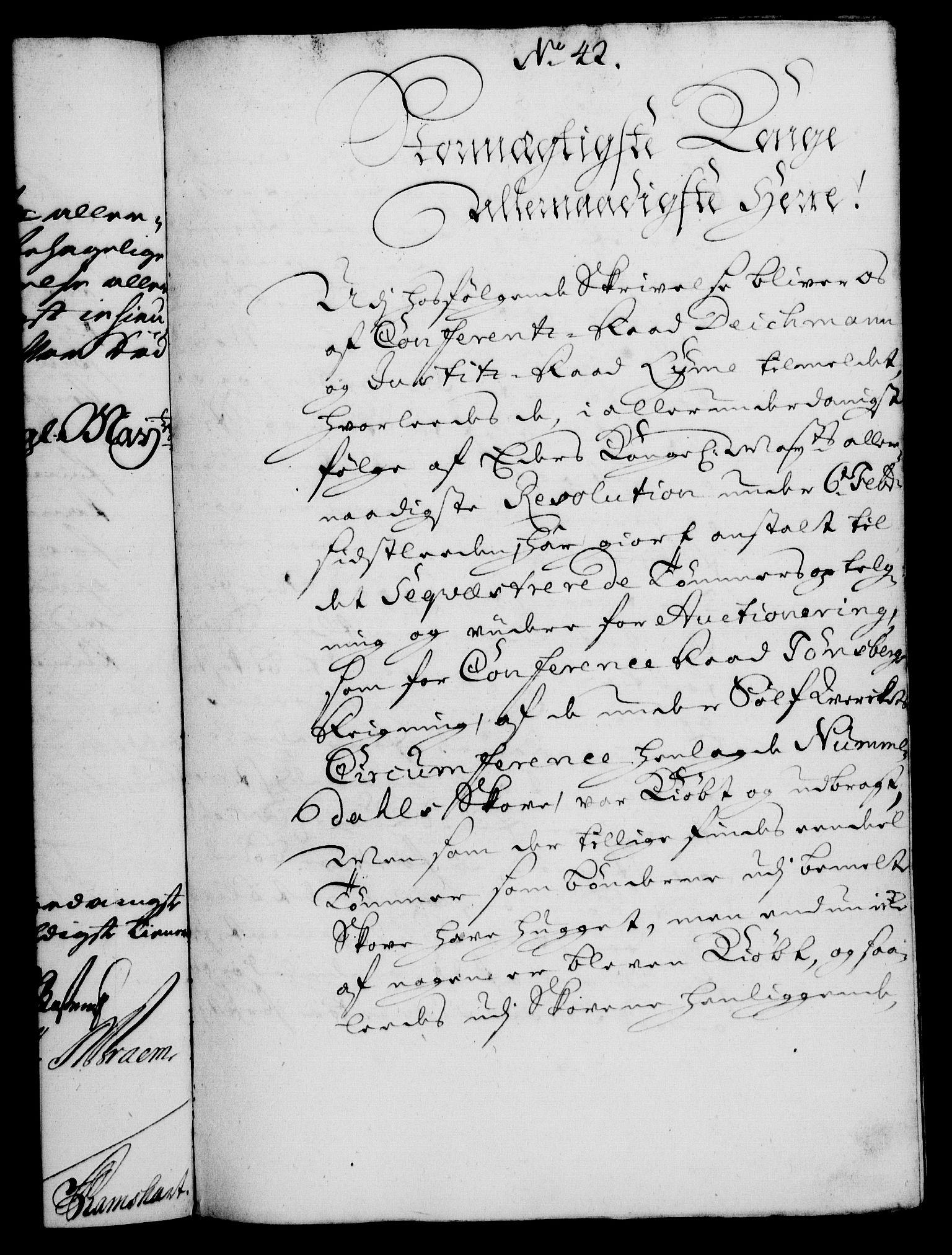 RA, Rentekammeret, Kammerkanselliet, G/Gf/Gfa/L0010: Norsk relasjons- og resolusjonsprotokoll (merket RK 52.10), 1727, s. 310