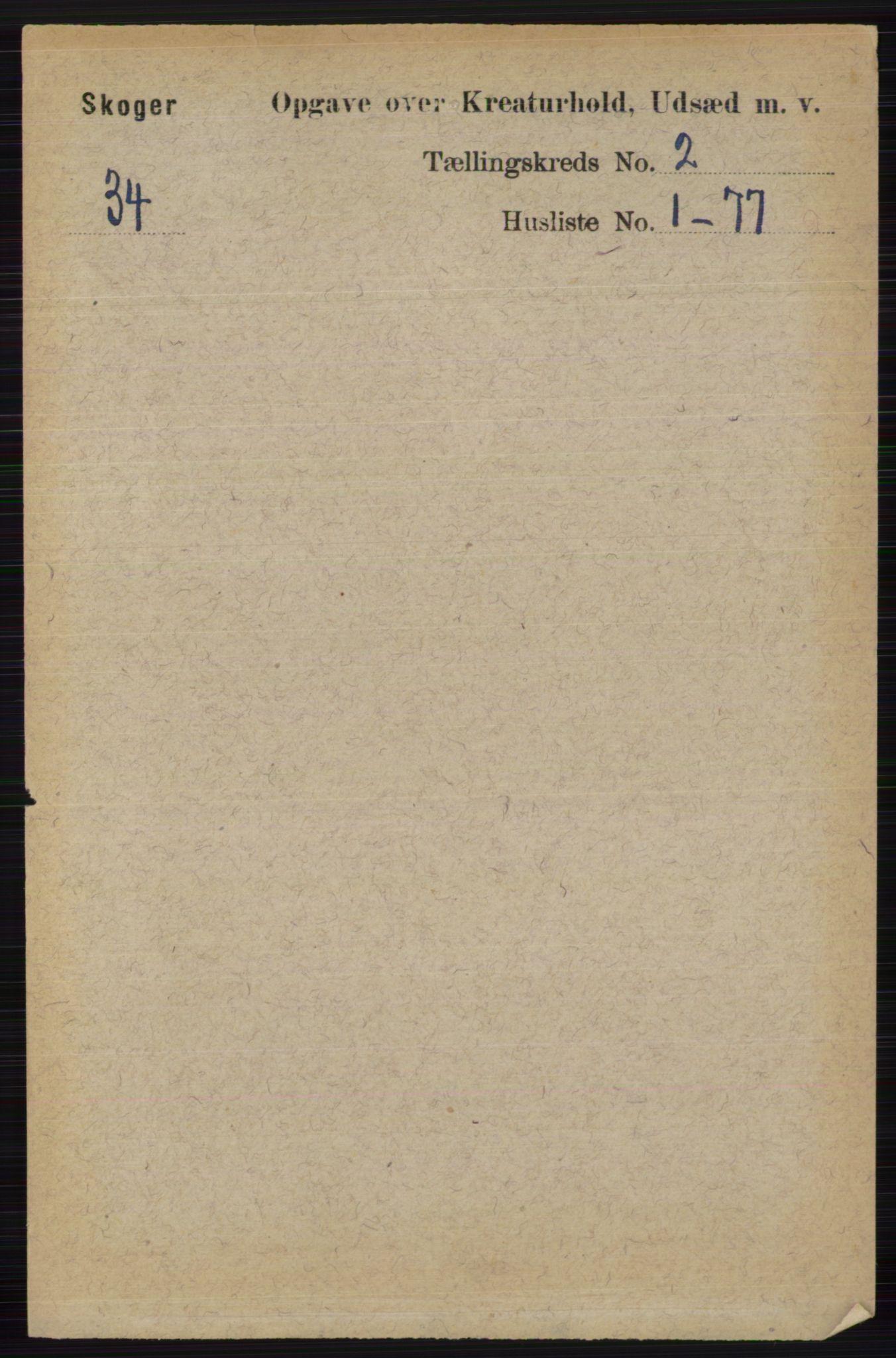 RA, Folketelling 1891 for 0712 Skoger herred, 1891, s. 4465