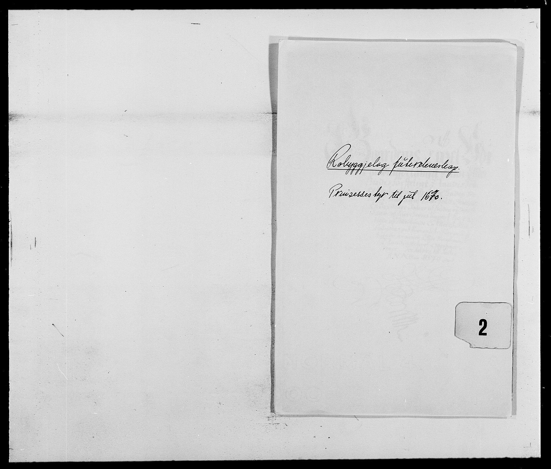 RA, Rentekammeret inntil 1814, Reviderte regnskaper, Fogderegnskap, R40/L2432: Fogderegnskap Råbyggelag, 1669-1670, s. 203