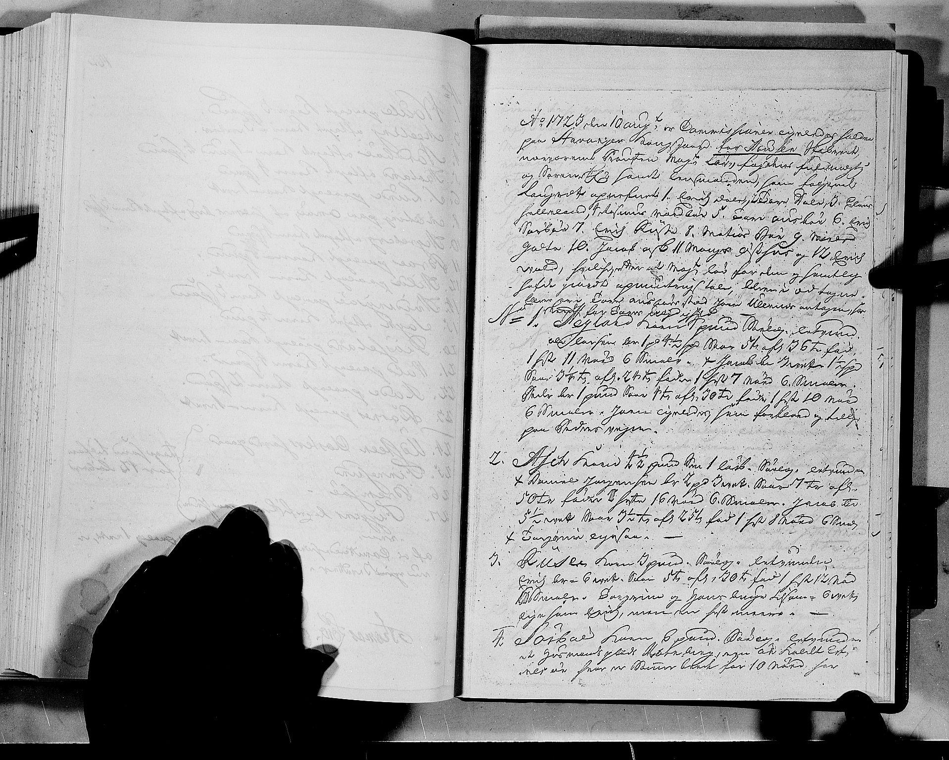 RA, Rentekammeret inntil 1814, Realistisk ordnet avdeling, N/Nb/Nbf/L0133a: Ryfylke eksaminasjonsprotokoll, 1723, s. 122b