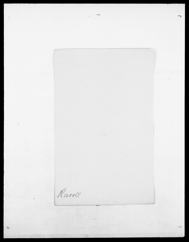 SAO, Delgobe, Charles Antoine - samling, D/Da/L0032: Rabakovsky - Rivertz, s. 446