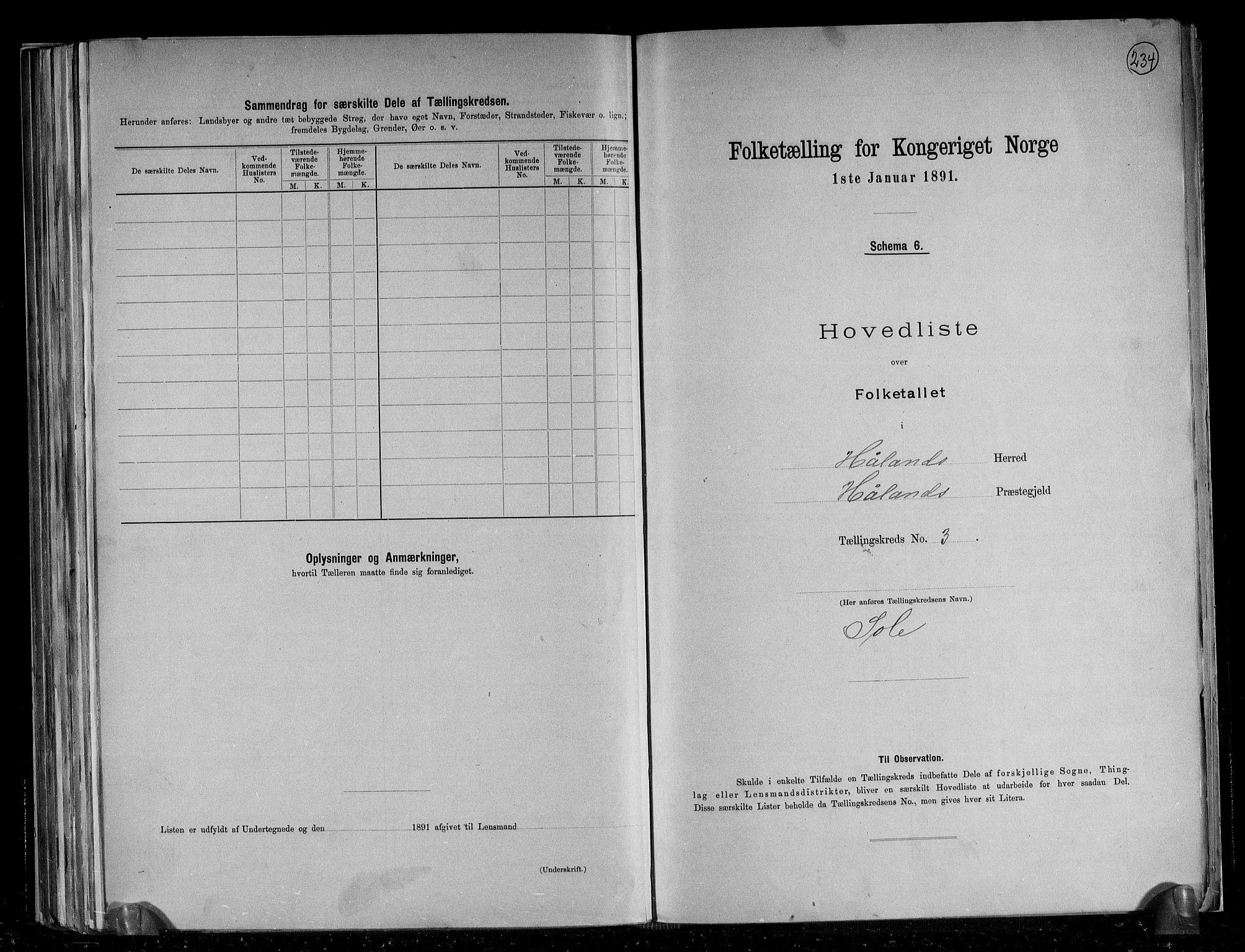 RA, Folketelling 1891 for 1124 Haaland herred, 1891, s. 12