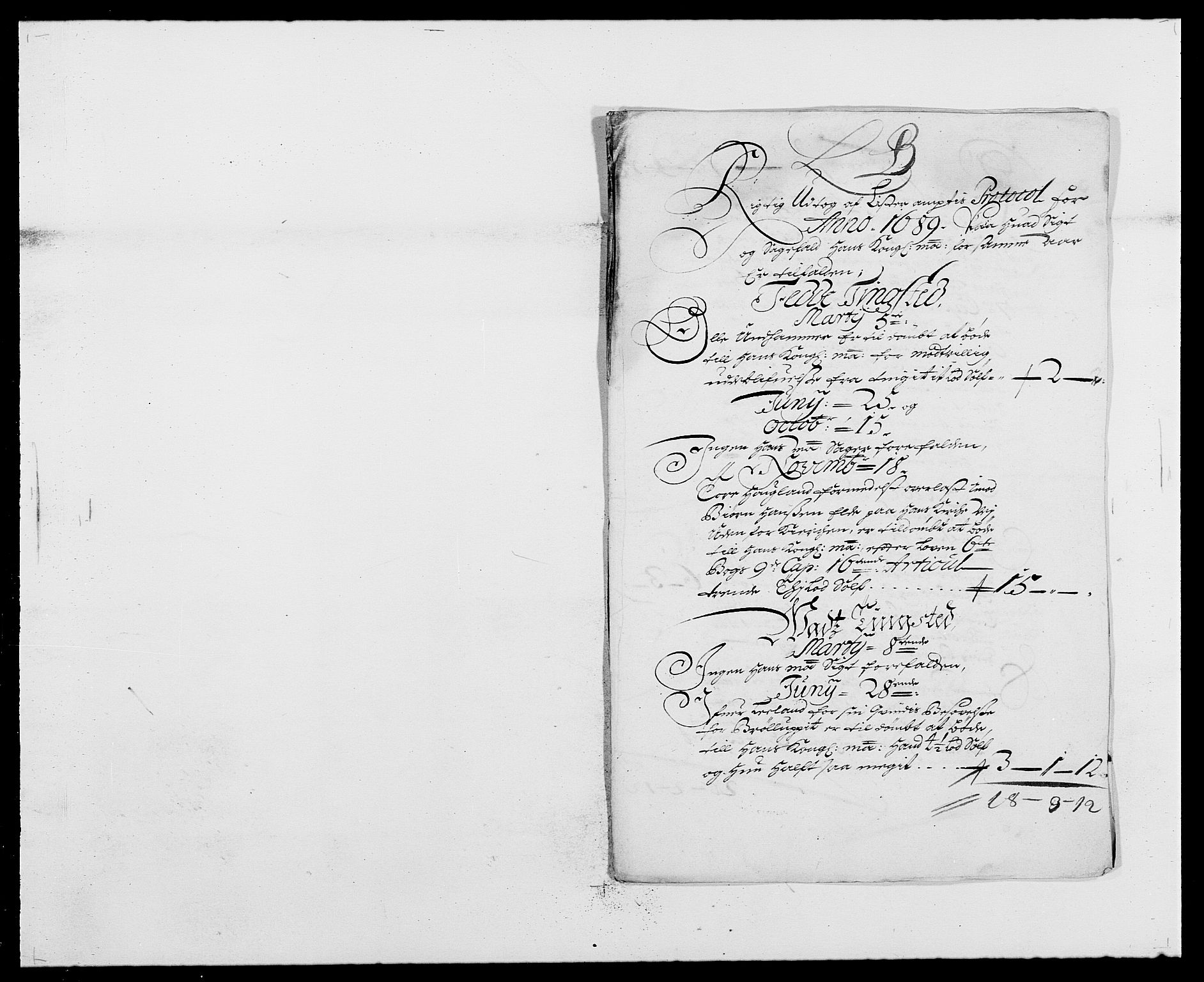 RA, Rentekammeret inntil 1814, Reviderte regnskaper, Fogderegnskap, R41/L2535: Fogderegnskap Lista, 1686-1689, s. 11