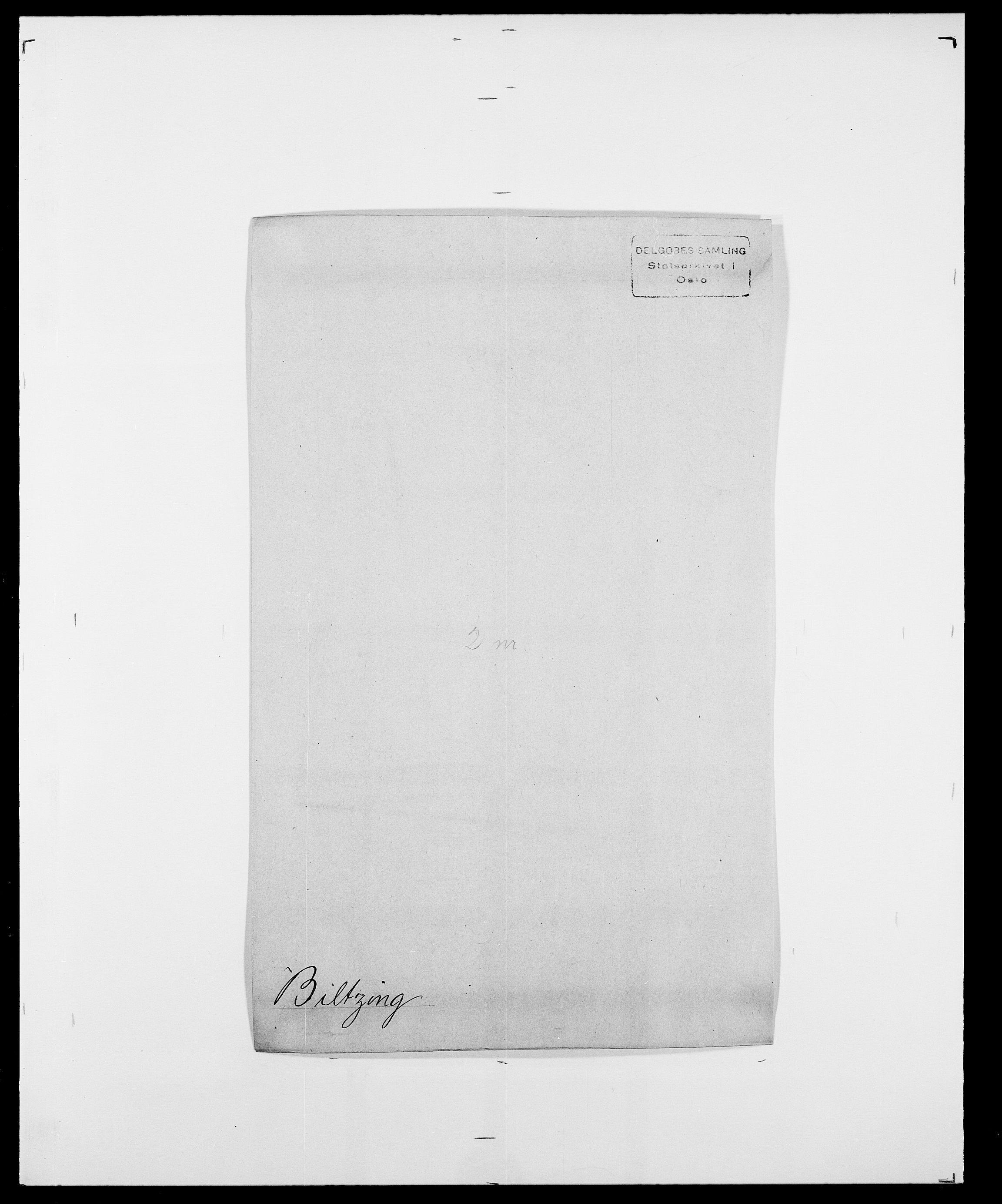 SAO, Delgobe, Charles Antoine - samling, D/Da/L0004: Bergendahl - Blære, s. 311