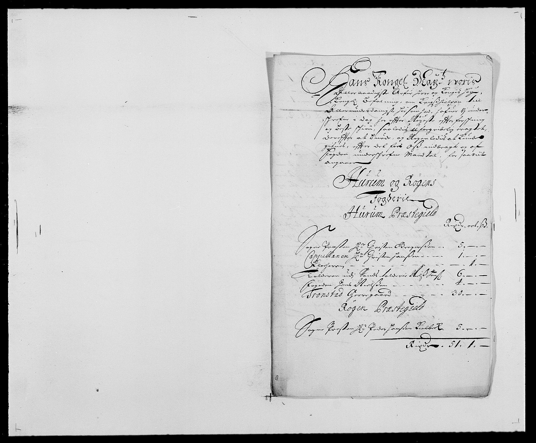 RA, Rentekammeret inntil 1814, Reviderte regnskaper, Fogderegnskap, R29/L1692: Fogderegnskap Hurum og Røyken, 1682-1687, s. 176