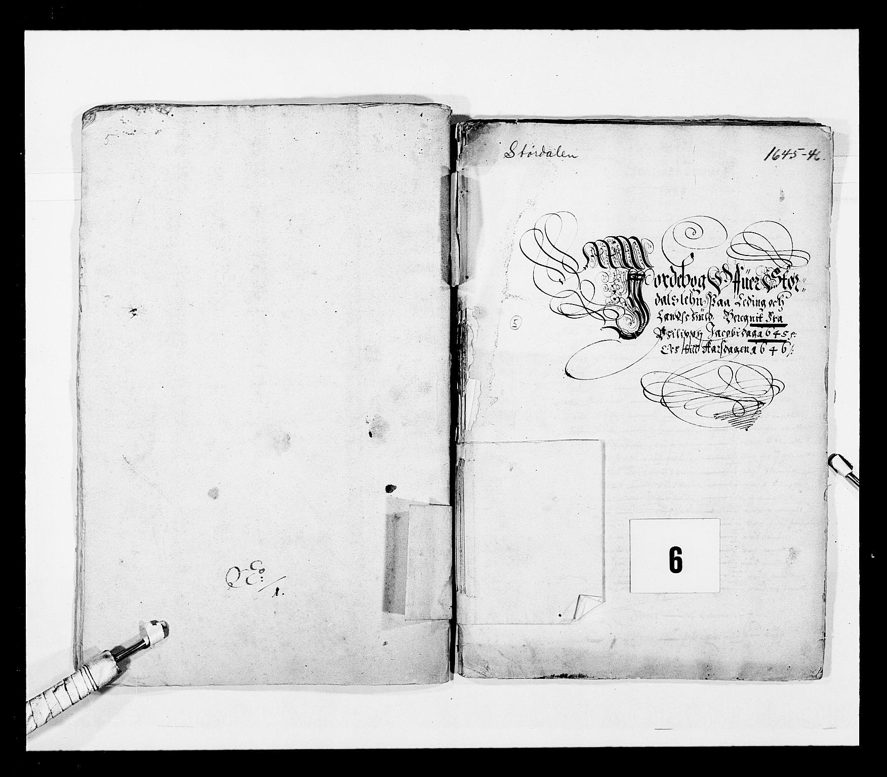 RA, Stattholderembetet 1572-1771, Ek/L0028: Jordebøker 1633-1658:, 1645-1646, s. 129