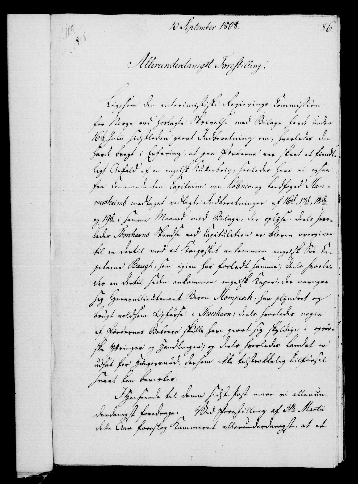 RA, Rentekammeret, Kammerkanselliet, G/Gf/Gfa/L0090: Norsk relasjons- og resolusjonsprotokoll (merket RK 52.90), 1808, s. 434