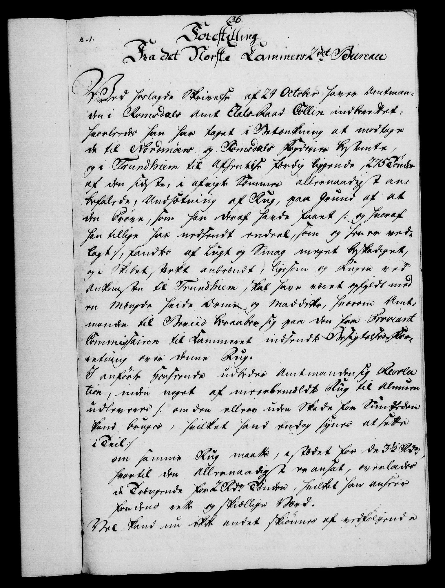 RA, Rentekammeret, Kammerkanselliet, G/Gf/Gfa/L0054: Norsk relasjons- og resolusjonsprotokoll (merket RK 52.54), 1771-1772, s. 718