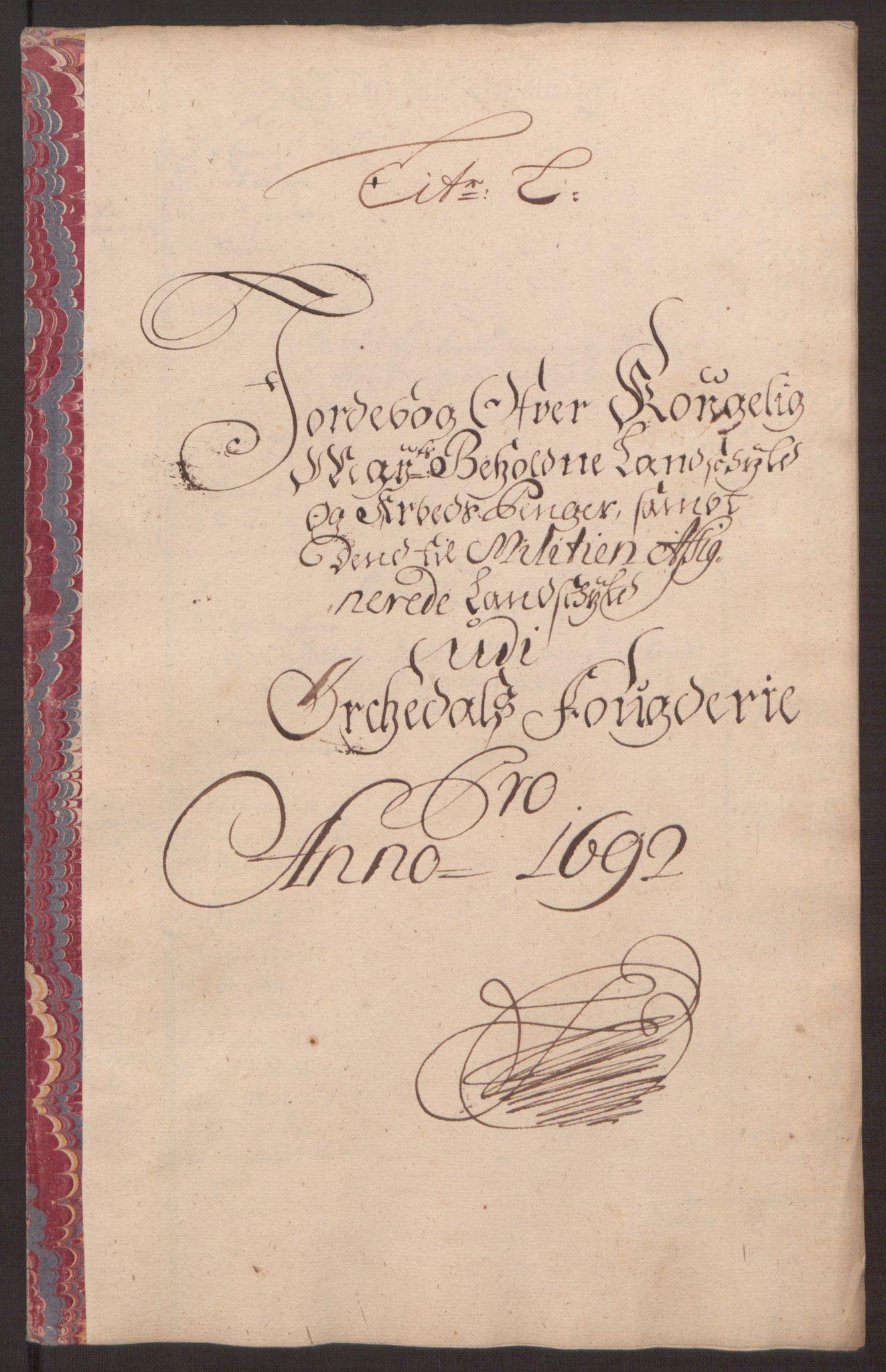RA, Rentekammeret inntil 1814, Reviderte regnskaper, Fogderegnskap, R58/L3937: Fogderegnskap Orkdal, 1691-1692, s. 314