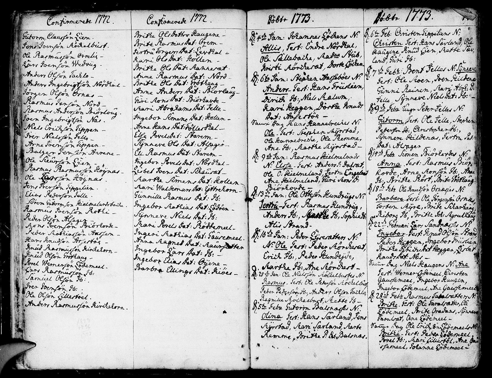 SAB, Eid Sokneprestembete, H/Haa: Ministerialbok nr. A 3, 1770-1805, s. 14