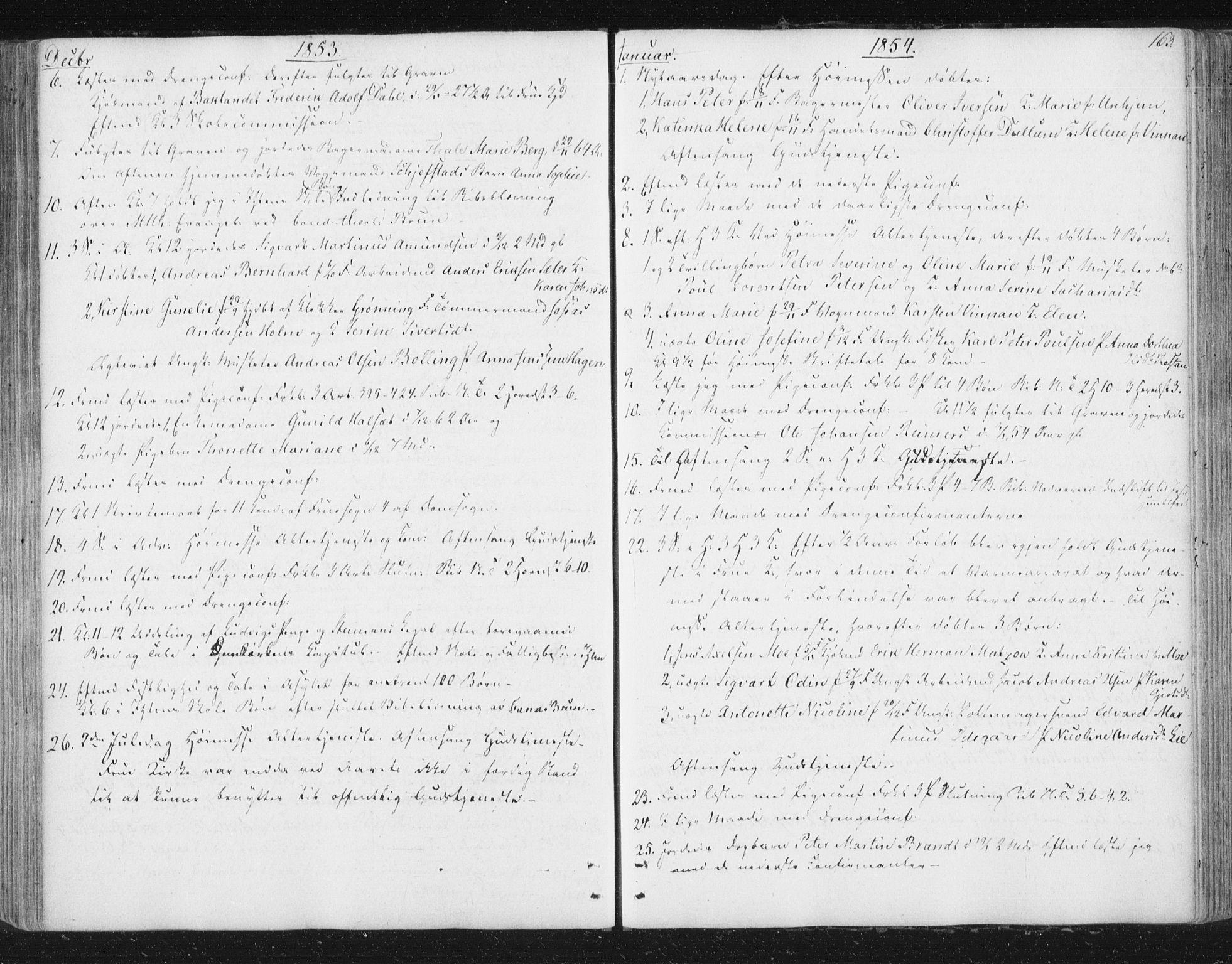 SAT, Ministerialprotokoller, klokkerbøker og fødselsregistre - Sør-Trøndelag, 602/L0127: Residerende kapellans bok nr. 602B01, 1821-1875, s. 163