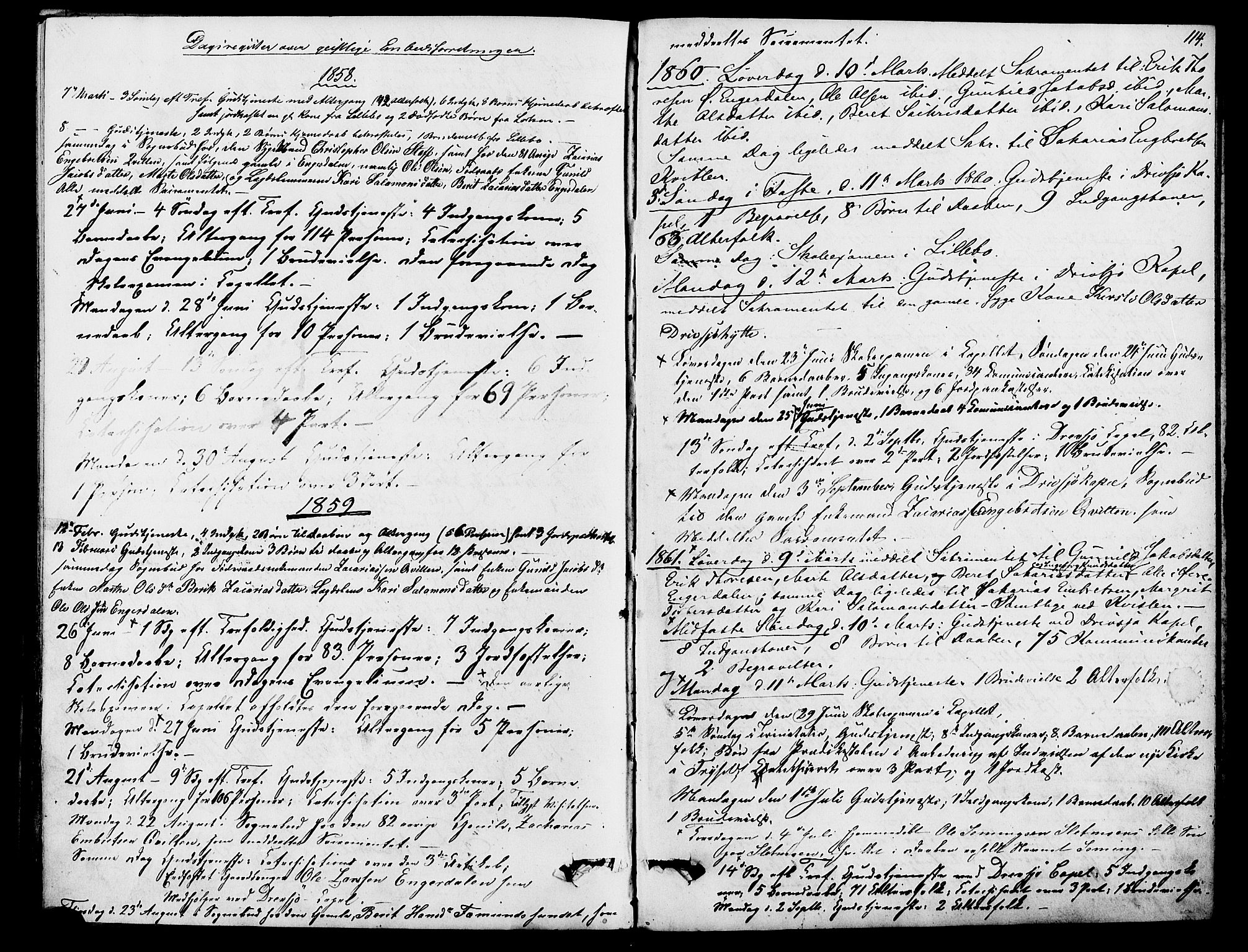 SAH, Rendalen prestekontor, H/Ha/Hab/L0002: Klokkerbok nr. 2, 1858-1880, s. 114