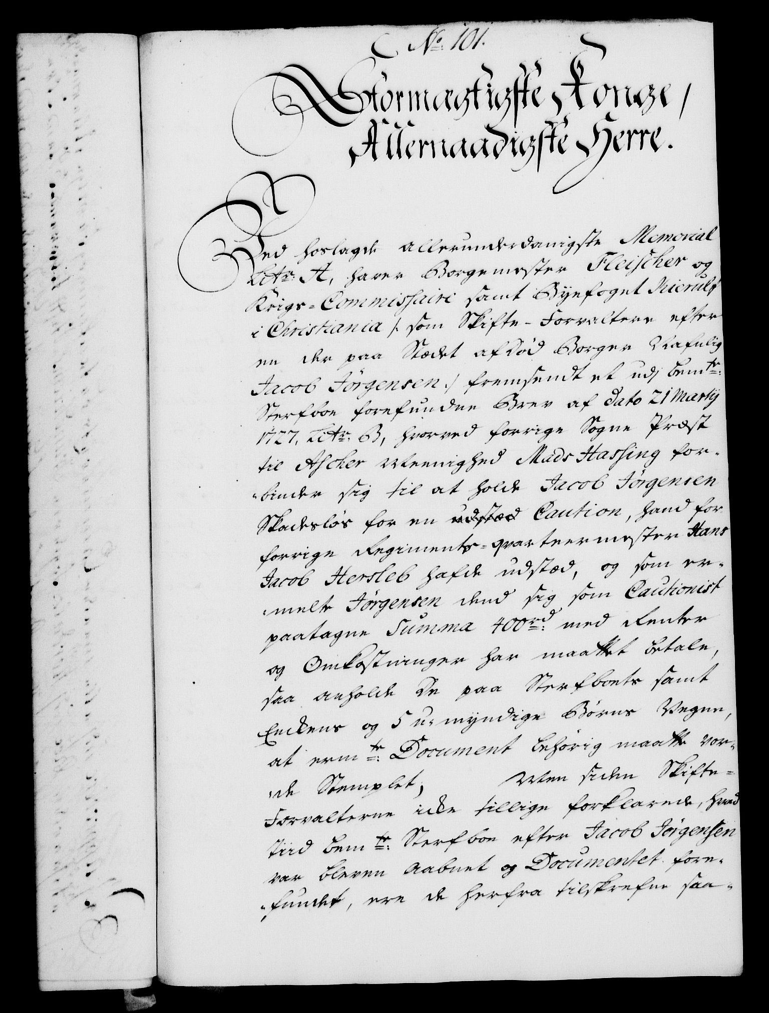 RA, Rentekammeret, Kammerkanselliet, G/Gf/Gfa/L0024: Norsk relasjons- og resolusjonsprotokoll (merket RK 52.24), 1741, s. 584