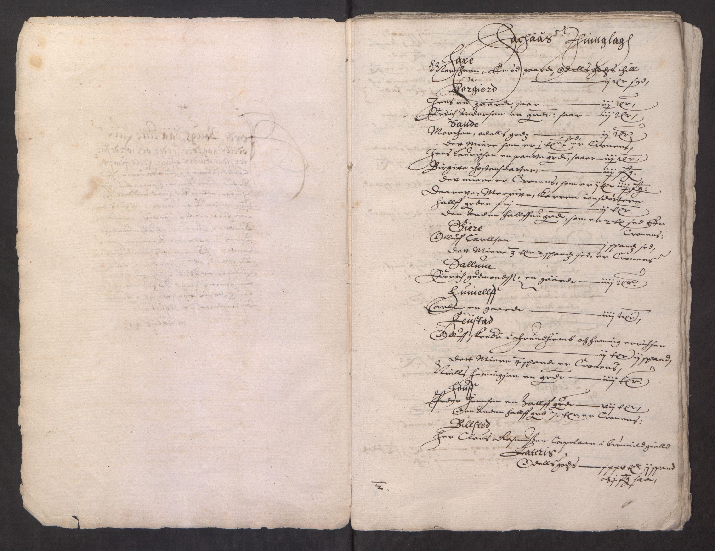 RA, Stattholderembetet 1572-1771, Ek/L0013: Jordebøker til utlikning av rosstjeneste 1624-1626:, 1624-1625, s. 97