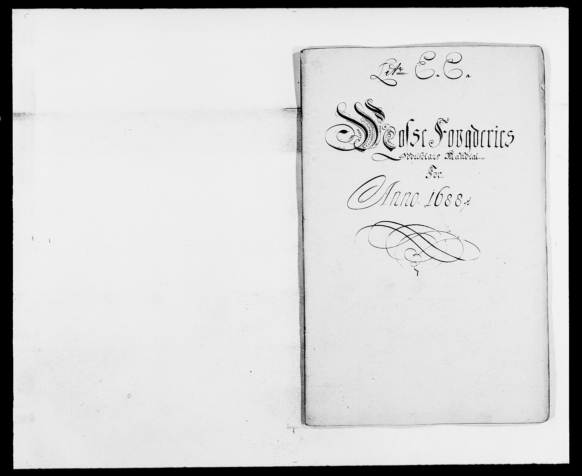 RA, Rentekammeret inntil 1814, Reviderte regnskaper, Fogderegnskap, R02/L0106: Fogderegnskap Moss og Verne kloster, 1688-1691, s. 101