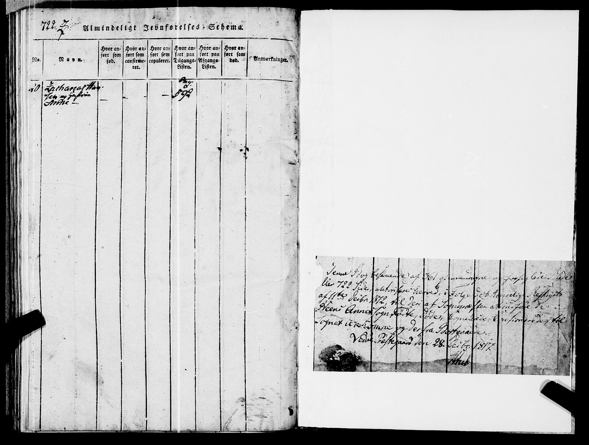 SAT, Ministerialprotokoller, klokkerbøker og fødselsregistre - Møre og Romsdal, 545/L0585: Ministerialbok nr. 545A01, 1818-1853, s. 722-723