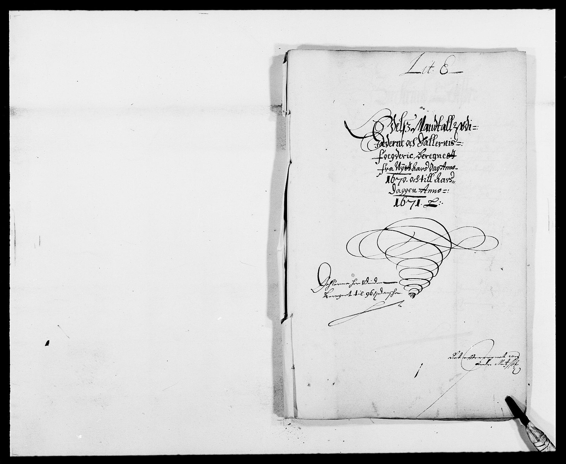 RA, Rentekammeret inntil 1814, Reviderte regnskaper, Fogderegnskap, R46/L2712: Fogderegnskap Jæren og Dalane, 1670-1671, s. 115