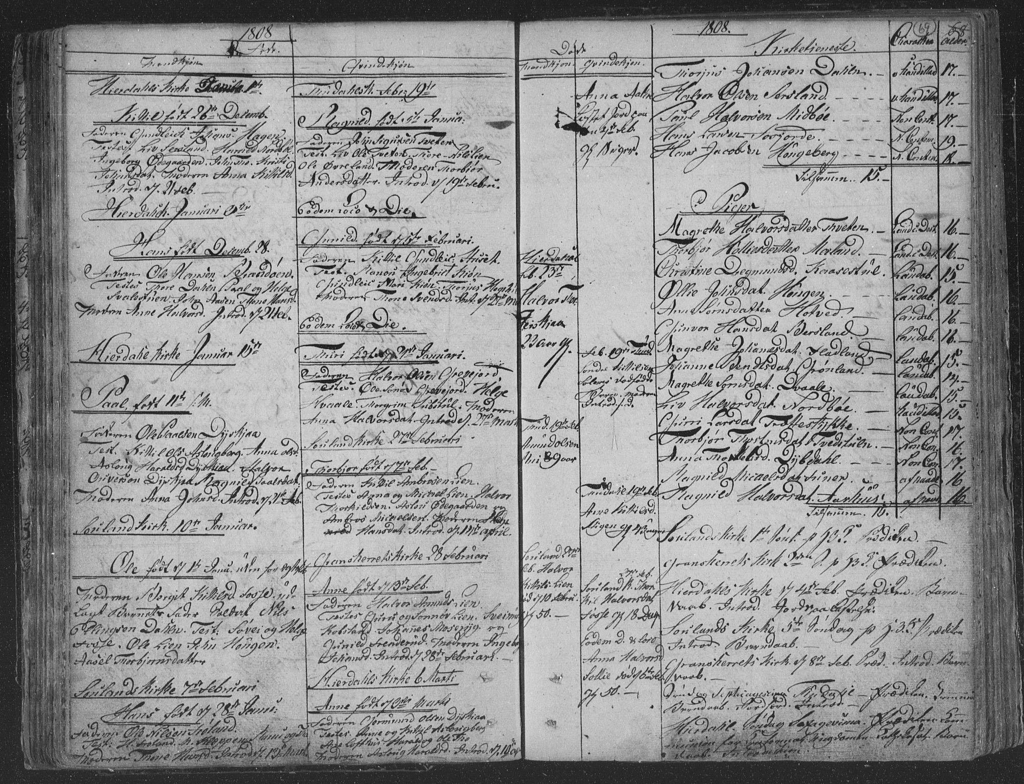 SAKO, Hjartdal kirkebøker, F/Fa/L0006: Ministerialbok nr. I 6, 1801-1814, s. 69