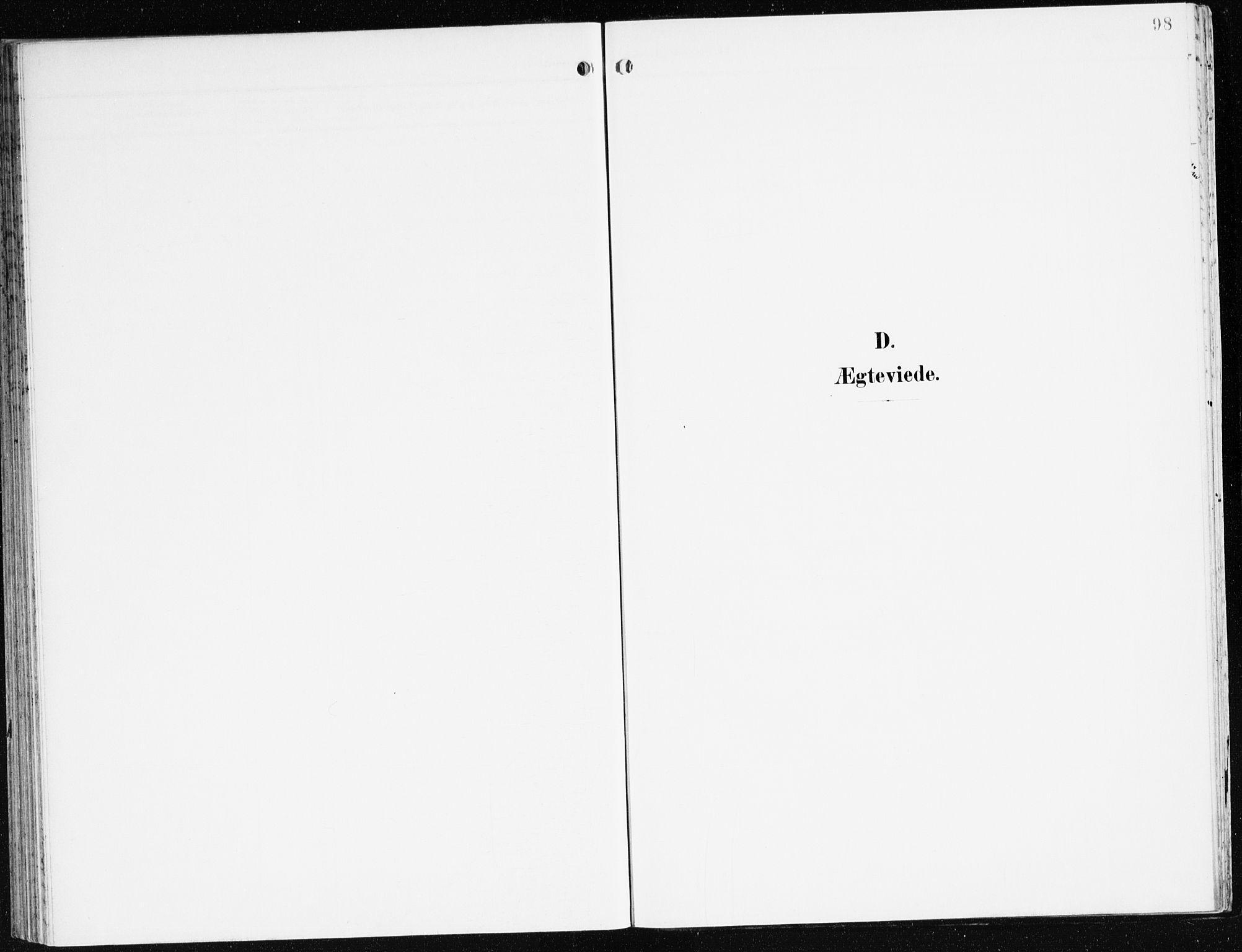 SAB, Eid Sokneprestembete, H/Haa: Ministerialbok nr. C 2, 1899-1927, s. 98