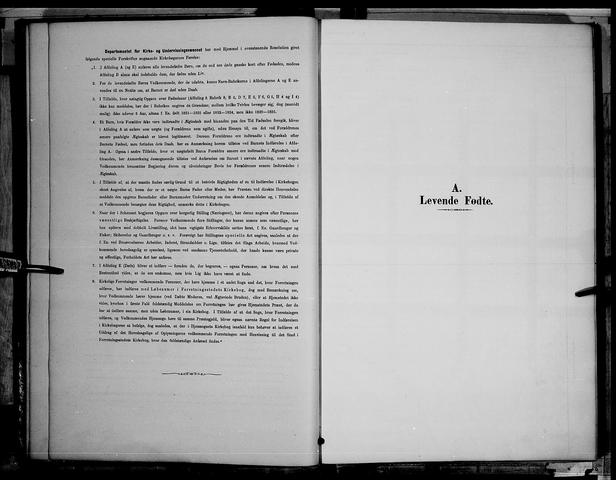 SAH, Søndre Land prestekontor, L/L0002: Klokkerbok nr. 2, 1884-1900