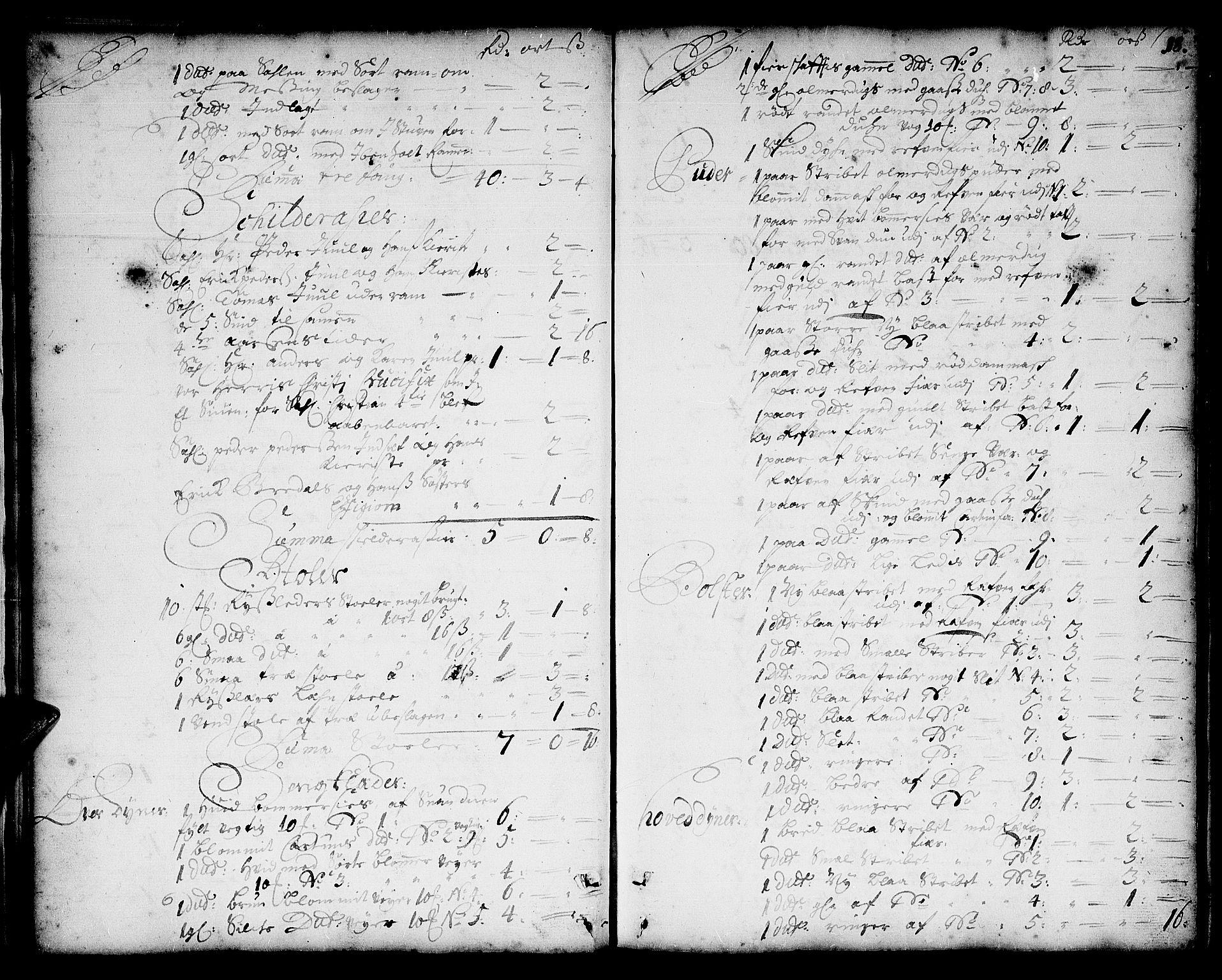 SAT, Romsdal prosti, I/I1/L0001: Retts- og skifteprotokoll m/register, 1706-1749, s. 17b-18a