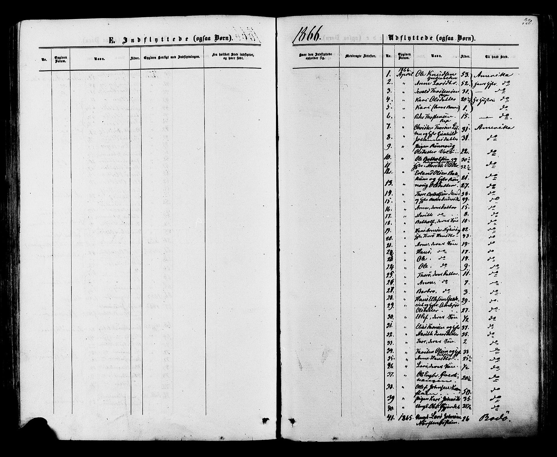 SAH, Lom prestekontor, K/L0007: Ministerialbok nr. 7, 1863-1884, s. 320