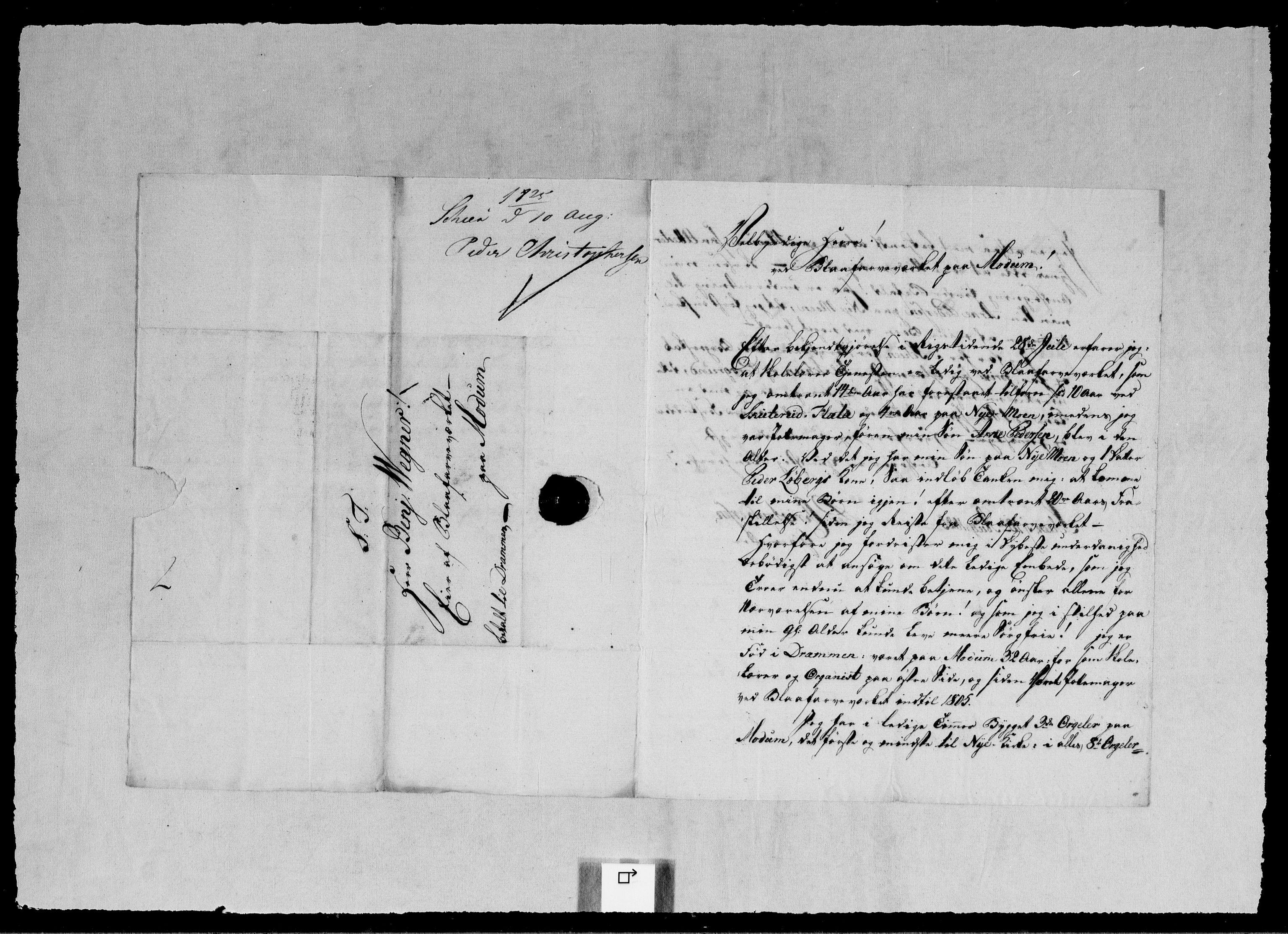 RA, Modums Blaafarveværk, G/Gb/L0095, 1825-1826, s. 161