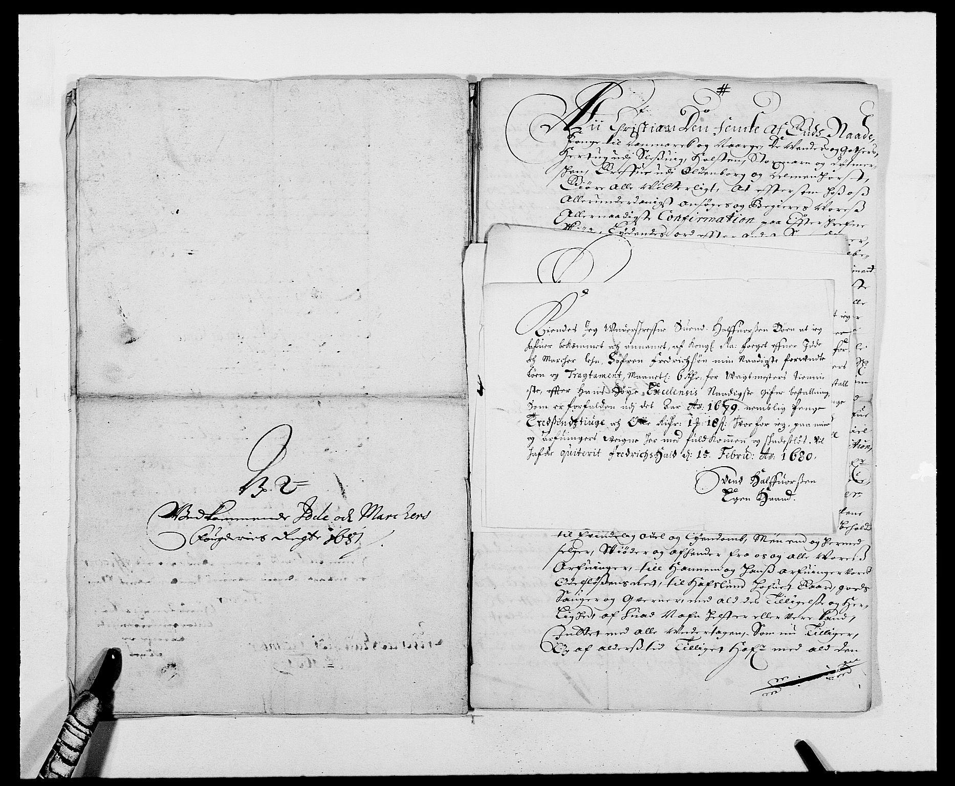 RA, Rentekammeret inntil 1814, Reviderte regnskaper, Fogderegnskap, R01/L0003: Fogderegnskap Idd og Marker, 1678-1681, s. 253