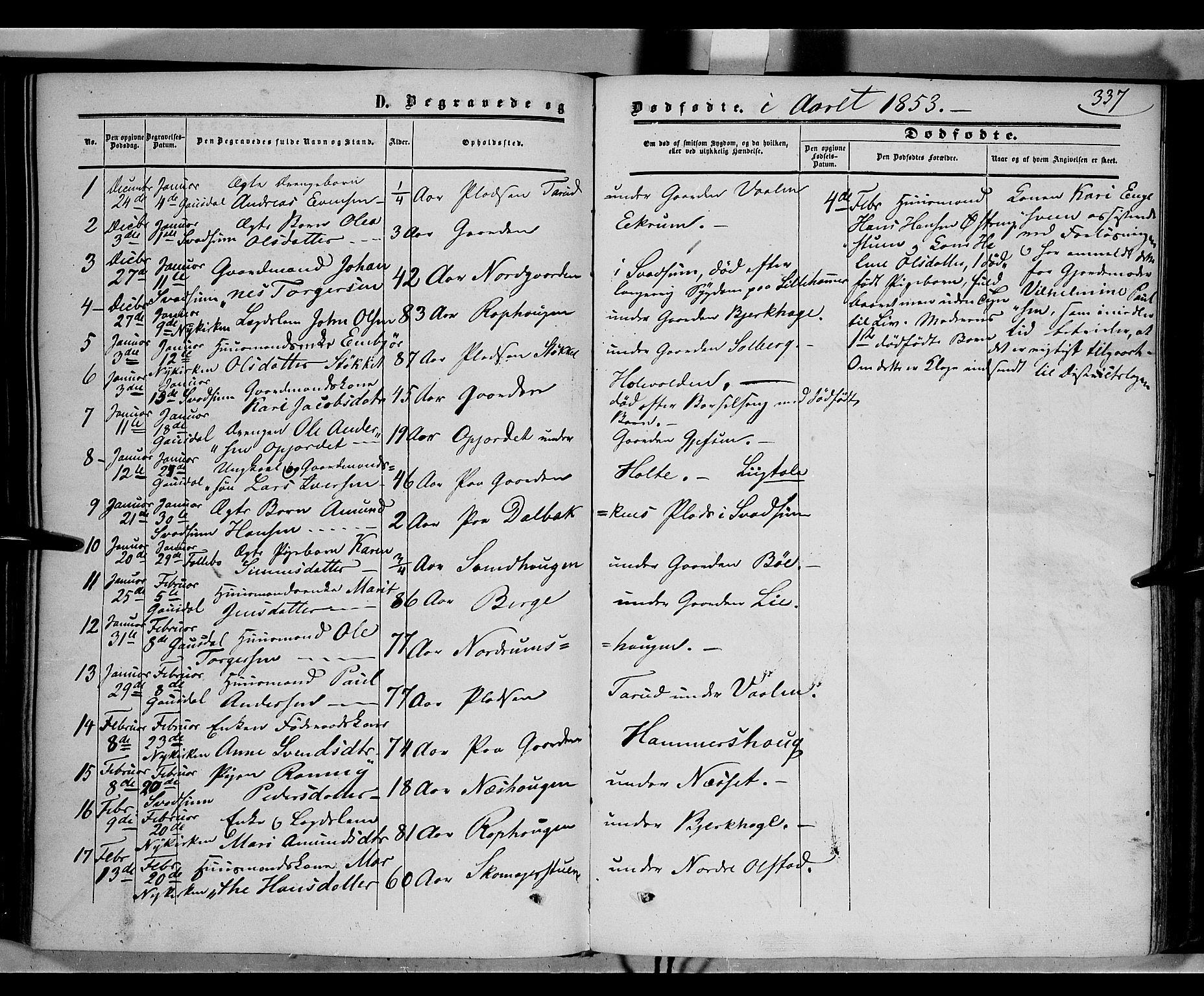 SAH, Gausdal prestekontor, Ministerialbok nr. 8, 1850-1861, s. 337