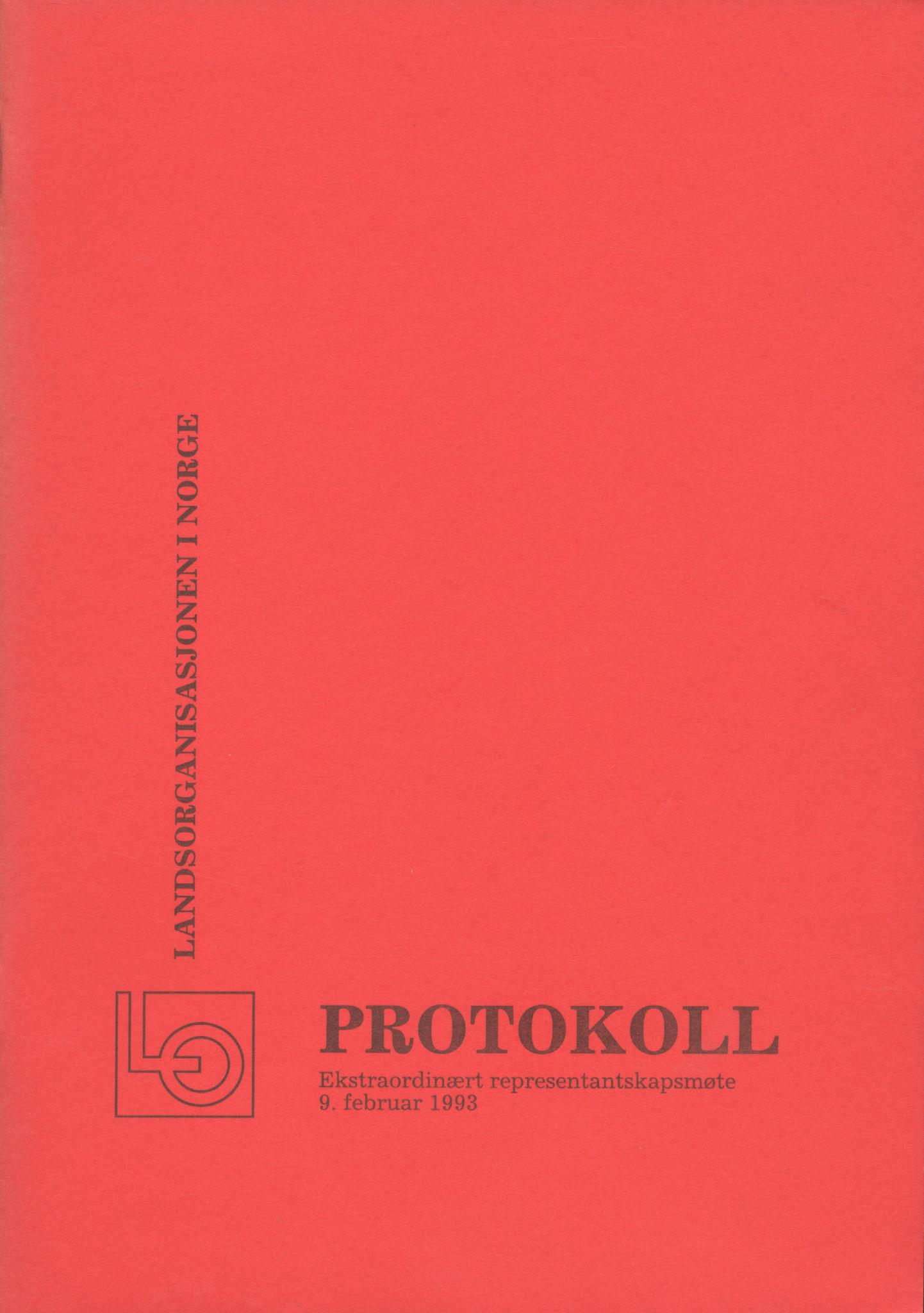 AAB, Landsorganisasjonen i Norge, 1993-2008, s. 1