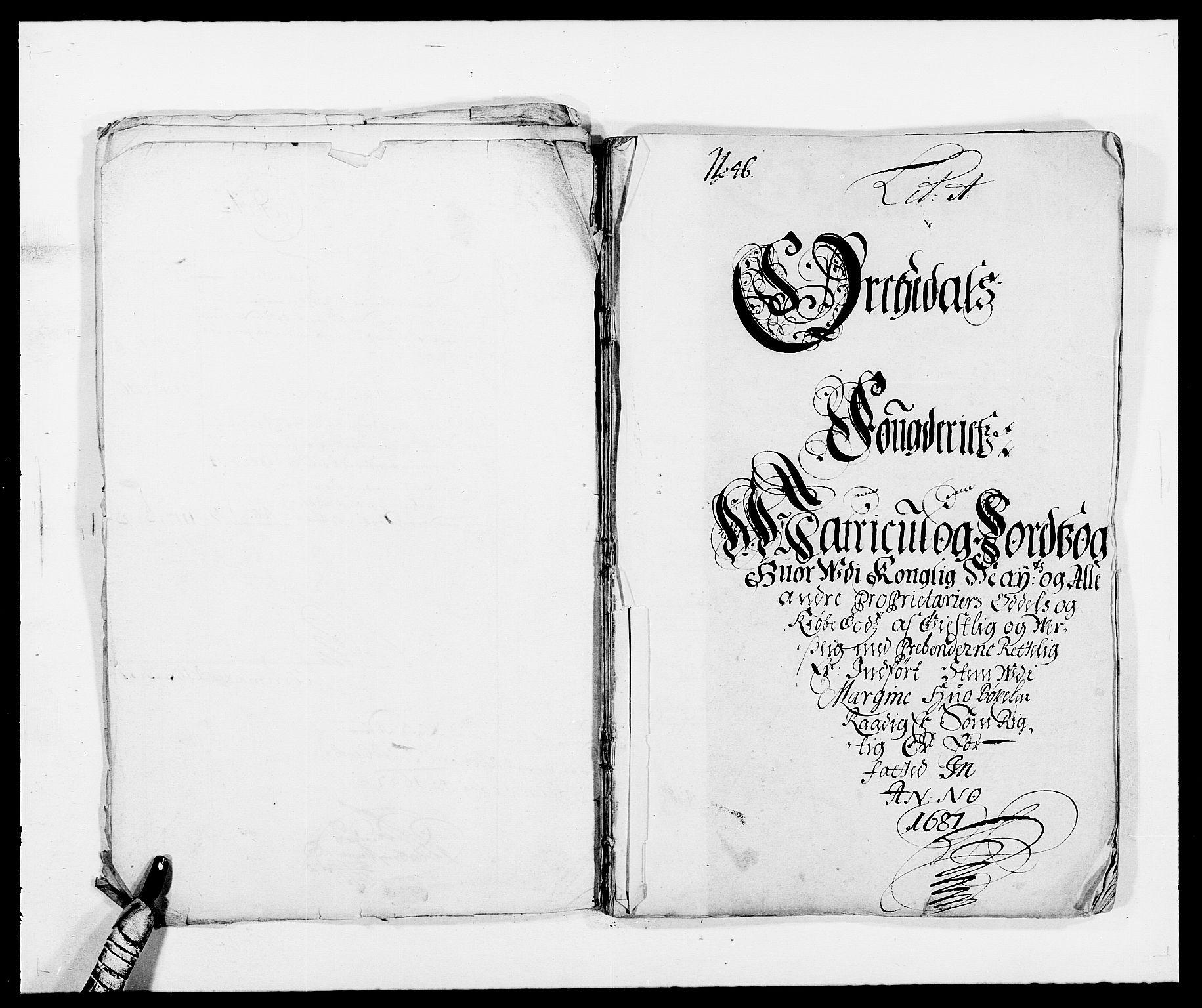 RA, Rentekammeret inntil 1814, Reviderte regnskaper, Fogderegnskap, R58/L3935: Fogderegnskap Orkdal, 1687-1688, s. 10