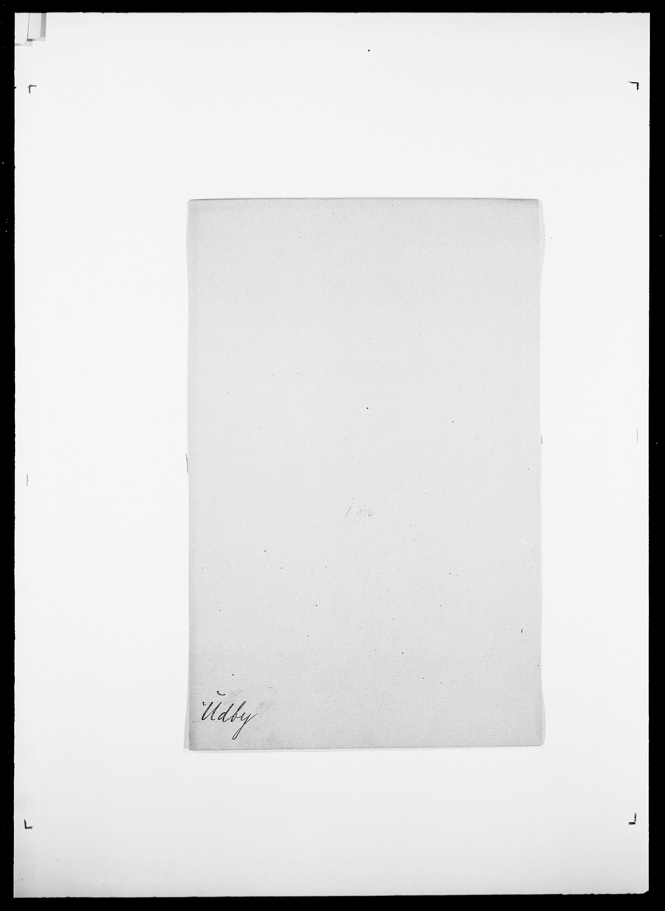 SAO, Delgobe, Charles Antoine - samling, D/Da/L0039: Thorsen - Urup, s. 620