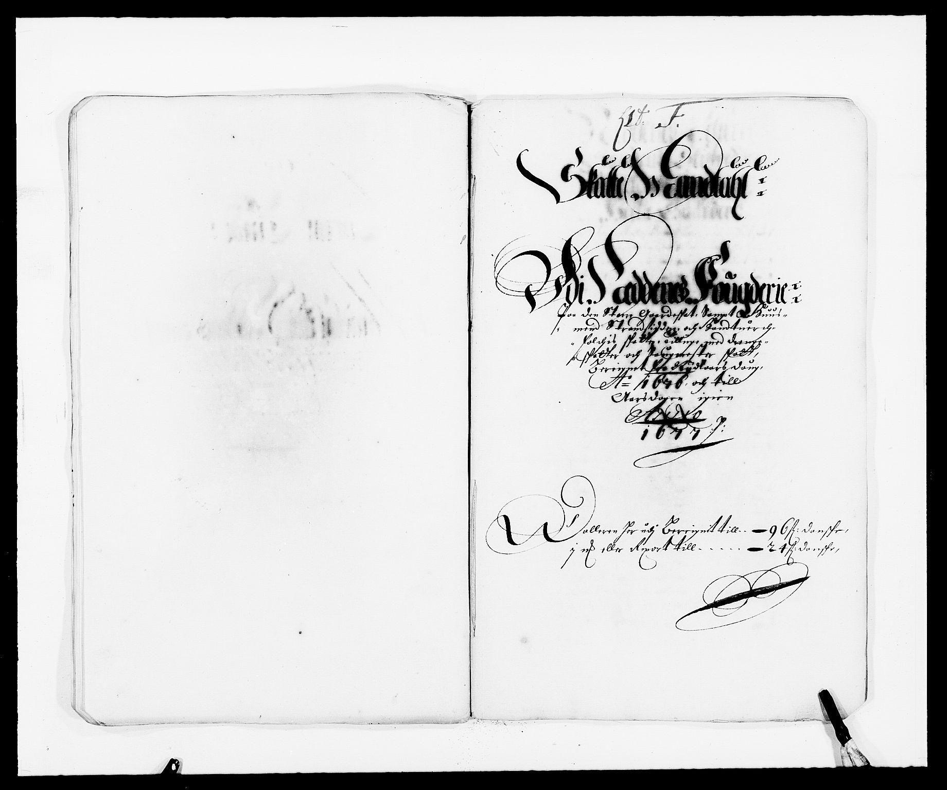 RA, Rentekammeret inntil 1814, Reviderte regnskaper, Fogderegnskap, R39/L2301: Fogderegnskap Nedenes, 1675-1676, s. 279