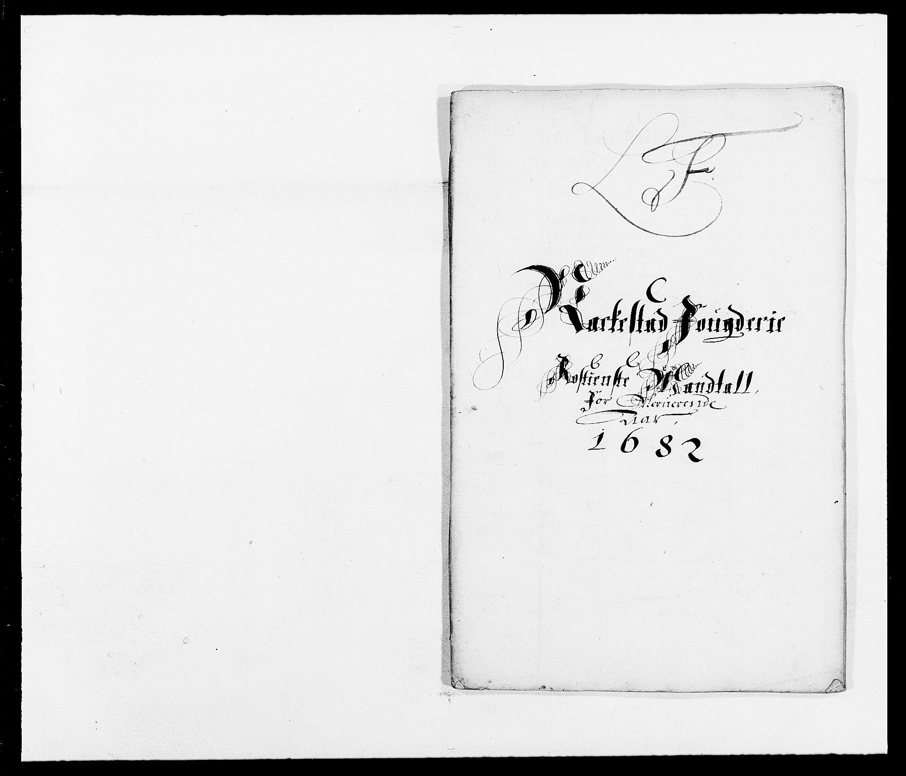 RA, Rentekammeret inntil 1814, Reviderte regnskaper, Fogderegnskap, R05/L0273: Fogderegnskap Rakkestad, 1682, s. 125