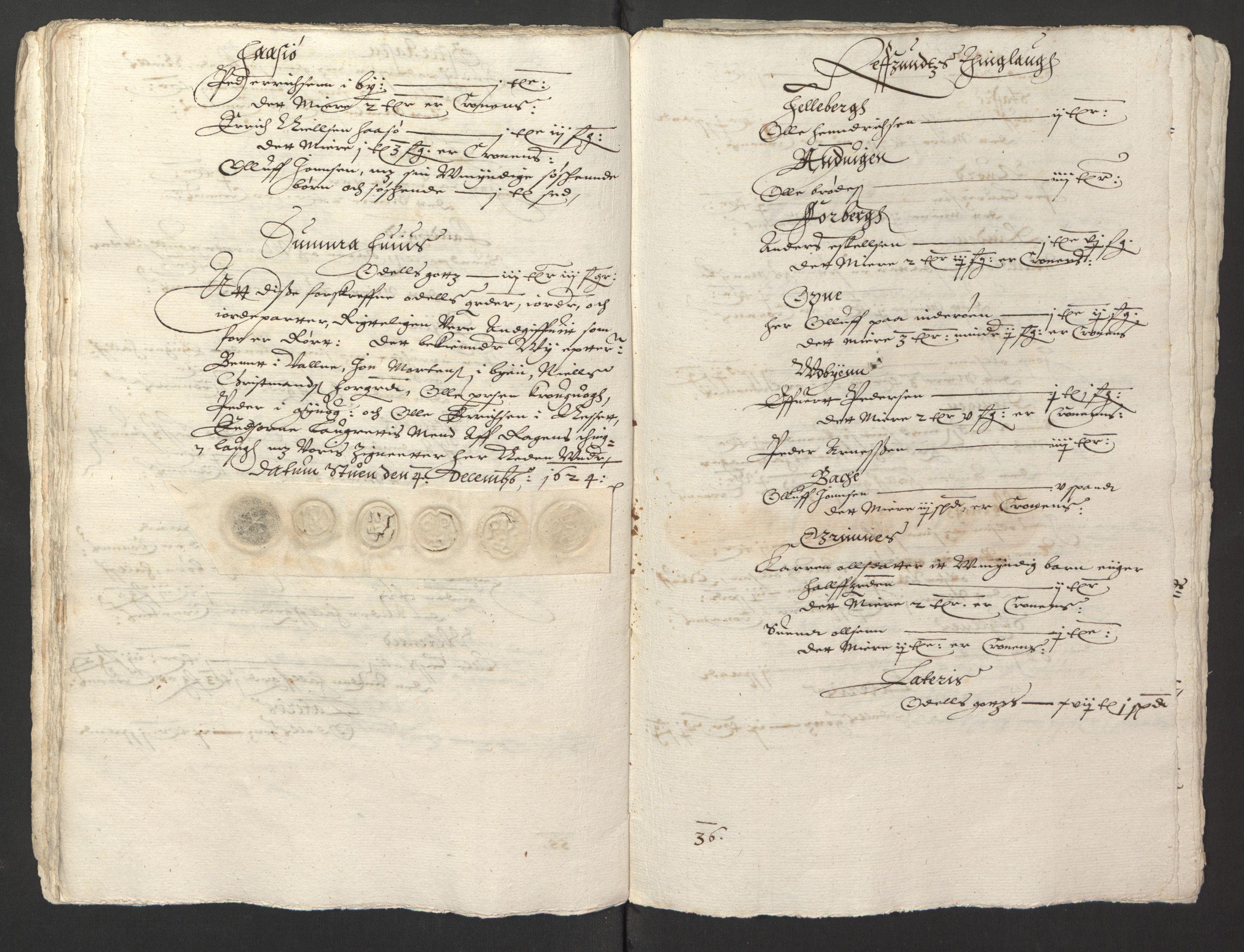 RA, Stattholderembetet 1572-1771, Ek/L0013: Jordebøker til utlikning av rosstjeneste 1624-1626:, 1624-1625, s. 131