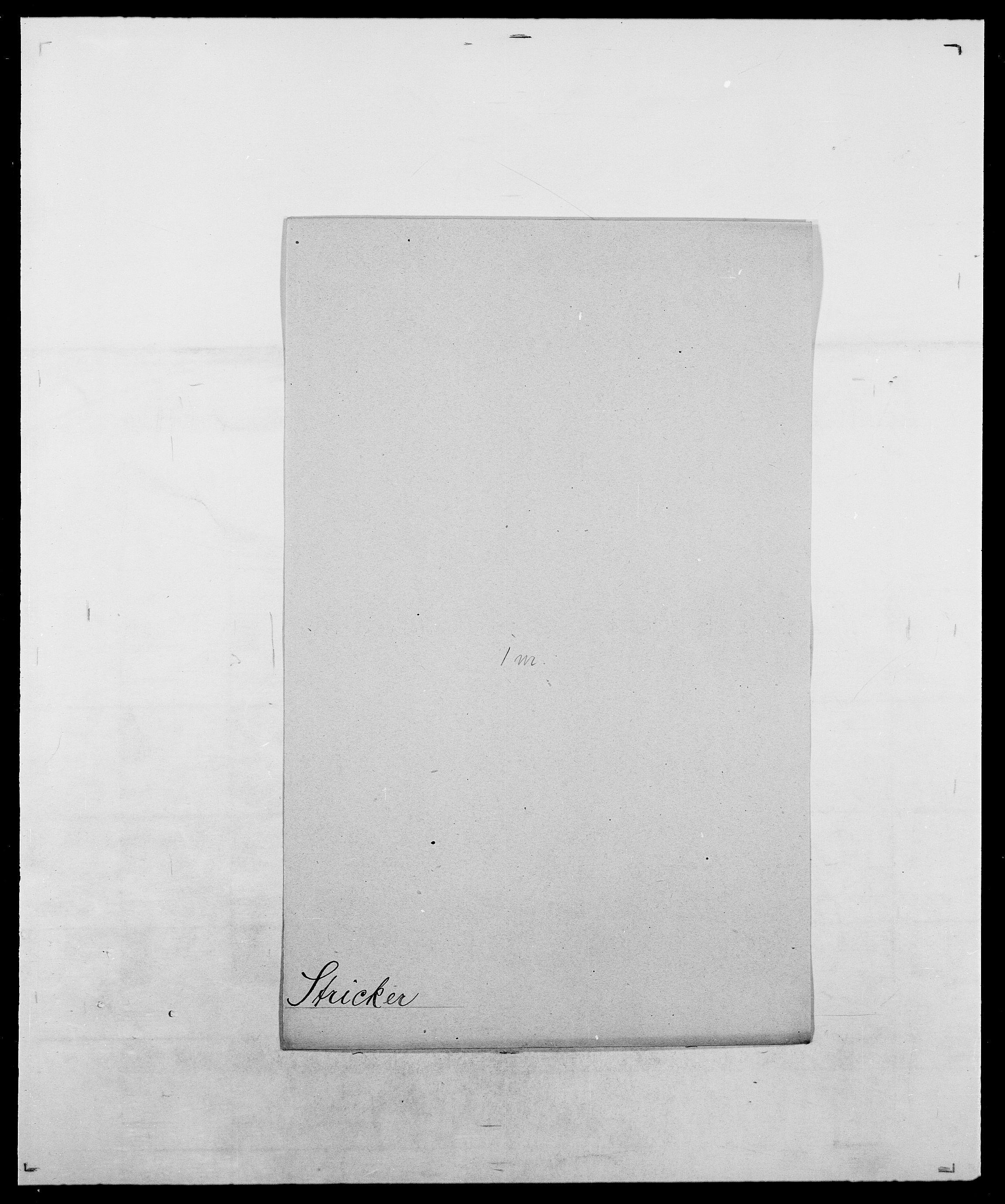 SAO, Delgobe, Charles Antoine - samling, D/Da/L0037: Steen, Sthen, Stein - Svare, Svanige, Svanne, se også Svanning og Schwane, s. 606