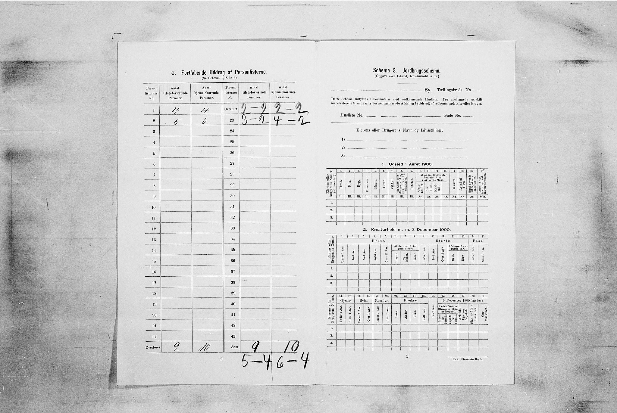 RA, Folketelling 1900 for 0705 Tønsberg kjøpstad, 1900, s. 3679