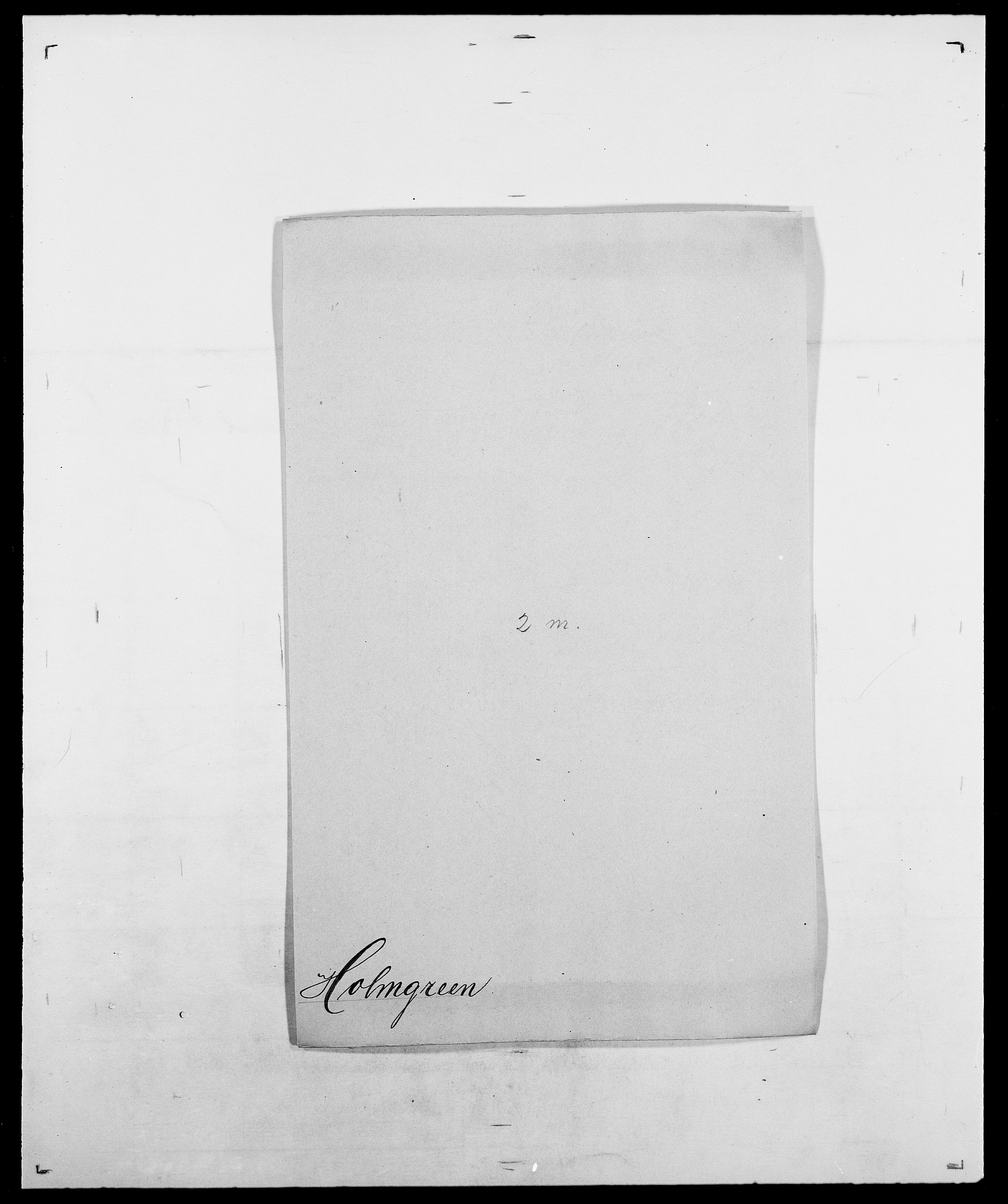 SAO, Delgobe, Charles Antoine - samling, D/Da/L0018: Hoch - Howert, s. 658