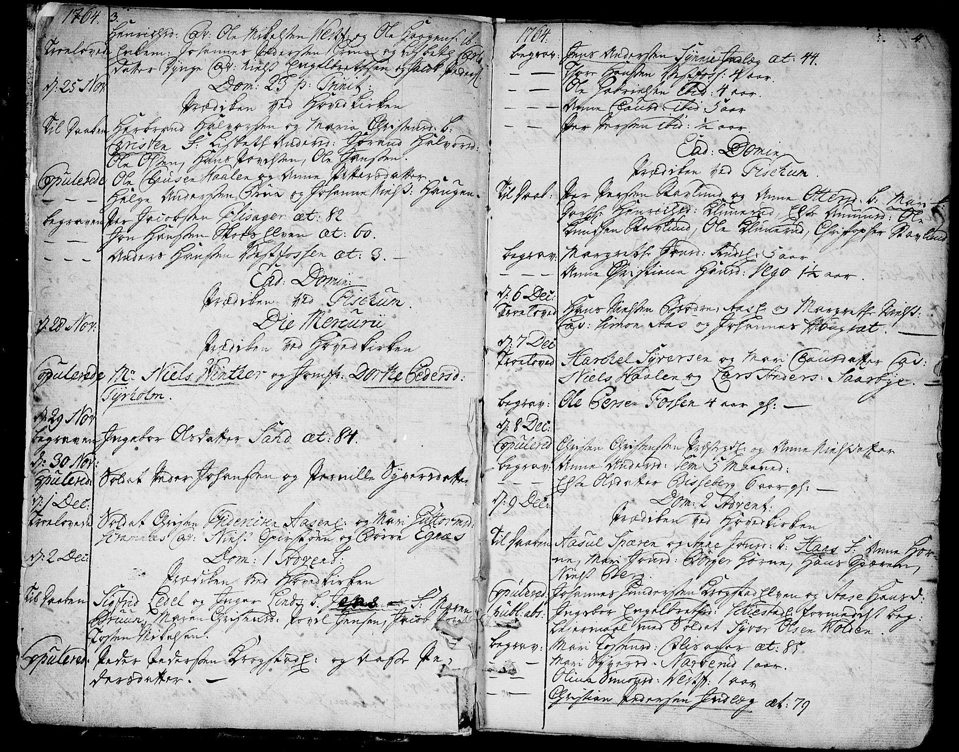SAKO, Eiker kirkebøker, F/Fa/L0008: Ministerialbok nr. I 8, 1764-1788, s. 5-6