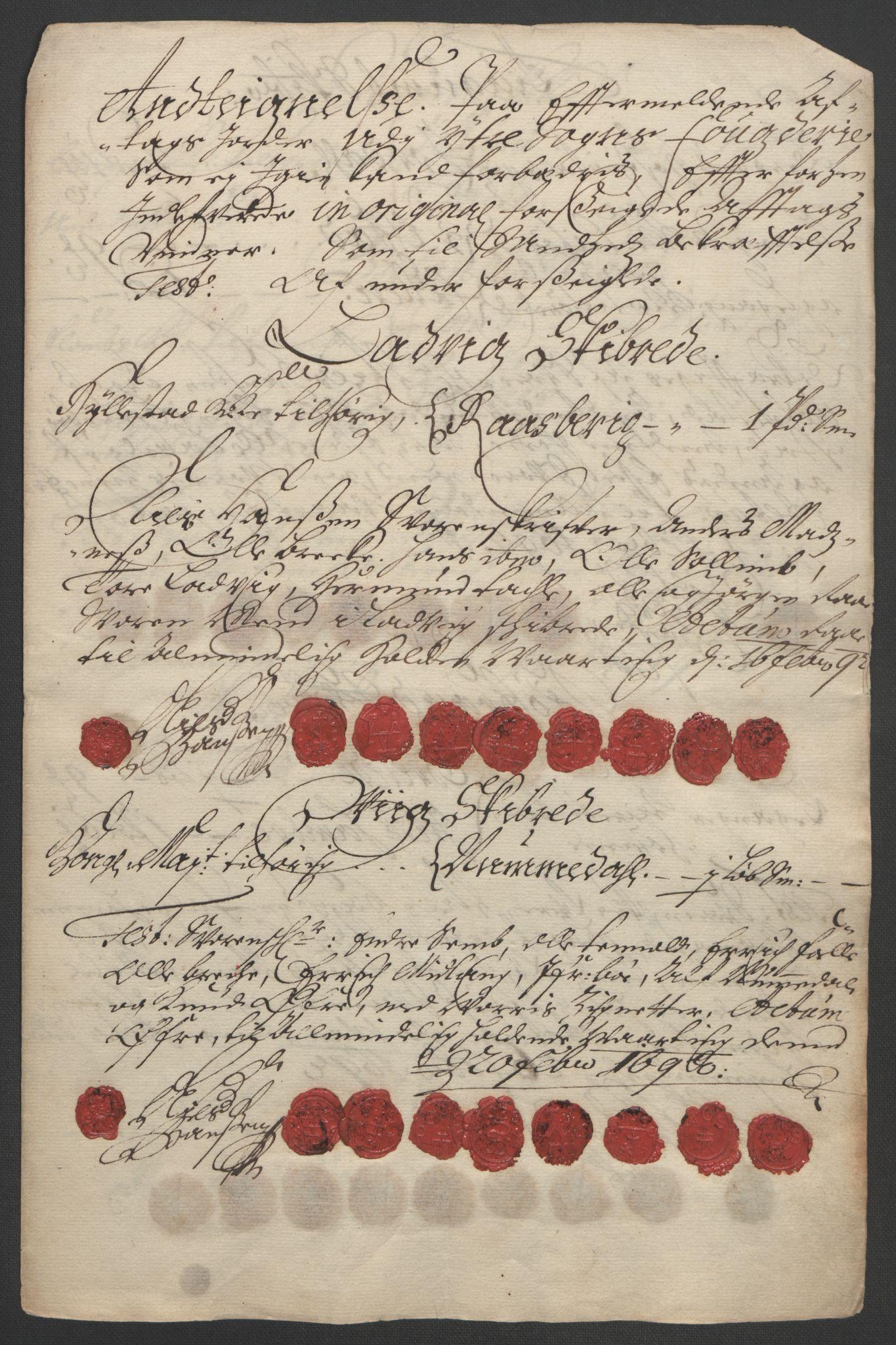 RA, Rentekammeret inntil 1814, Reviderte regnskaper, Fogderegnskap, R52/L3306: Fogderegnskap Sogn, 1691-1692, s. 100